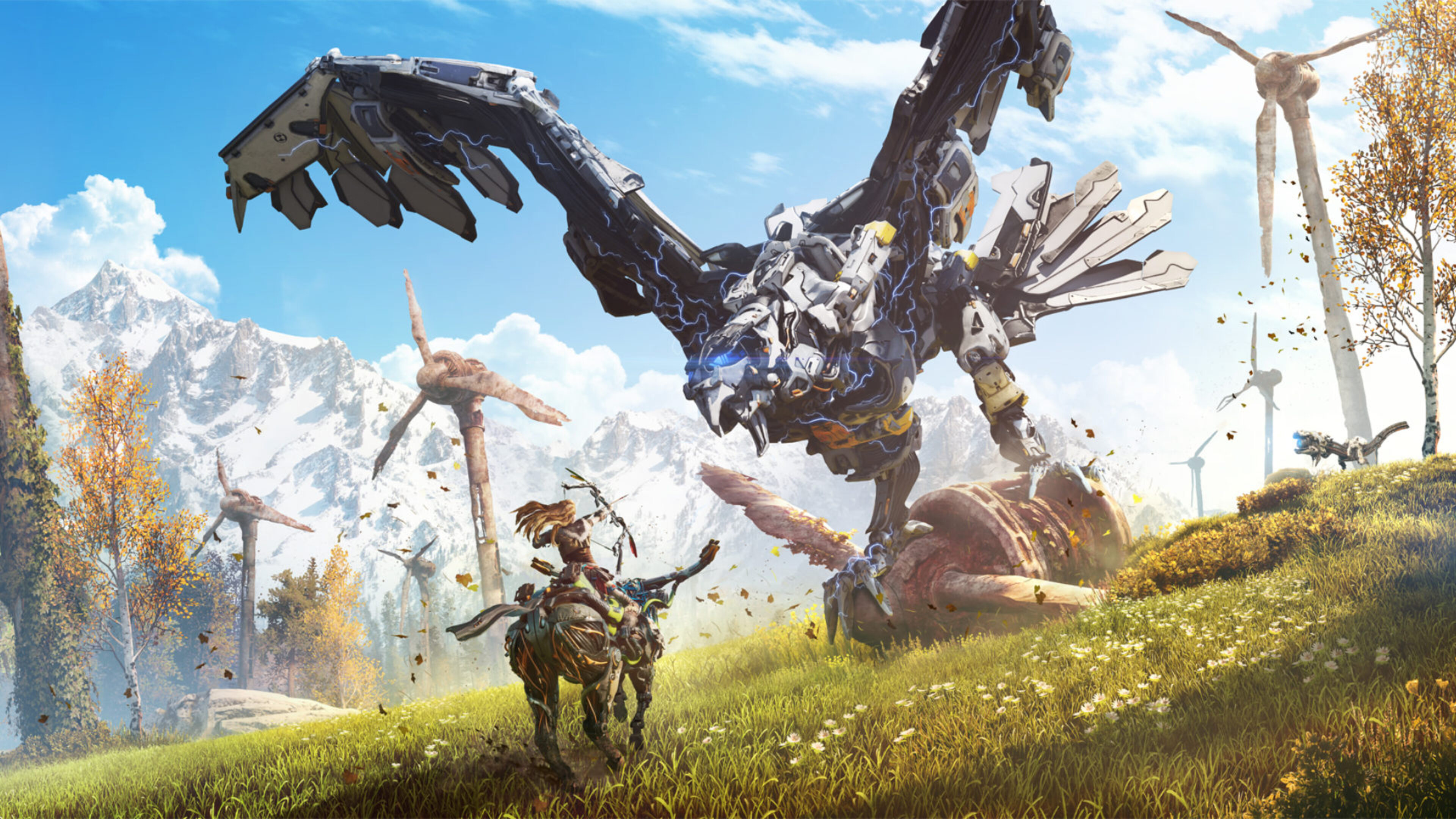 3840x2160 2016 Horizon Zero Dawn 4k HD 4k Wallpapers ...
