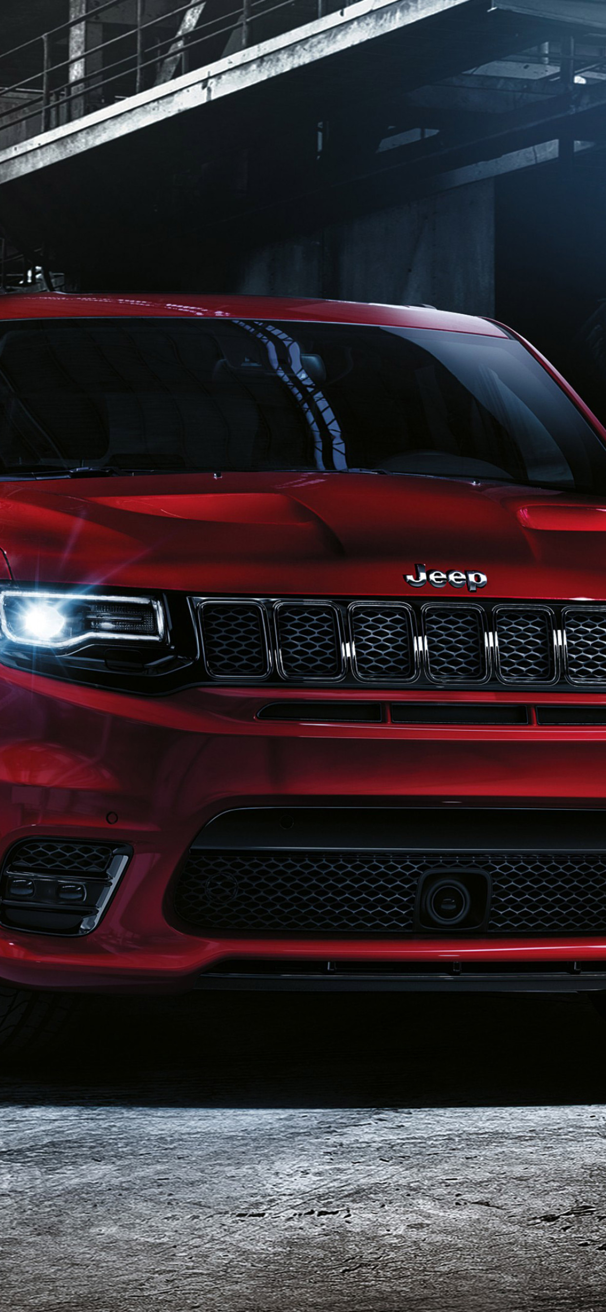 1242x2688 2016 Jeep Grand Cherokee Srt Iphone Xs Max Hd 4k