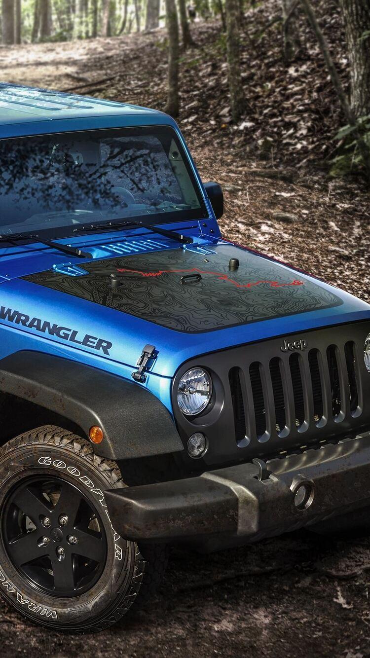 750x1334 2016 Jeep Wrangler Black Bear Edition Iphone 6
