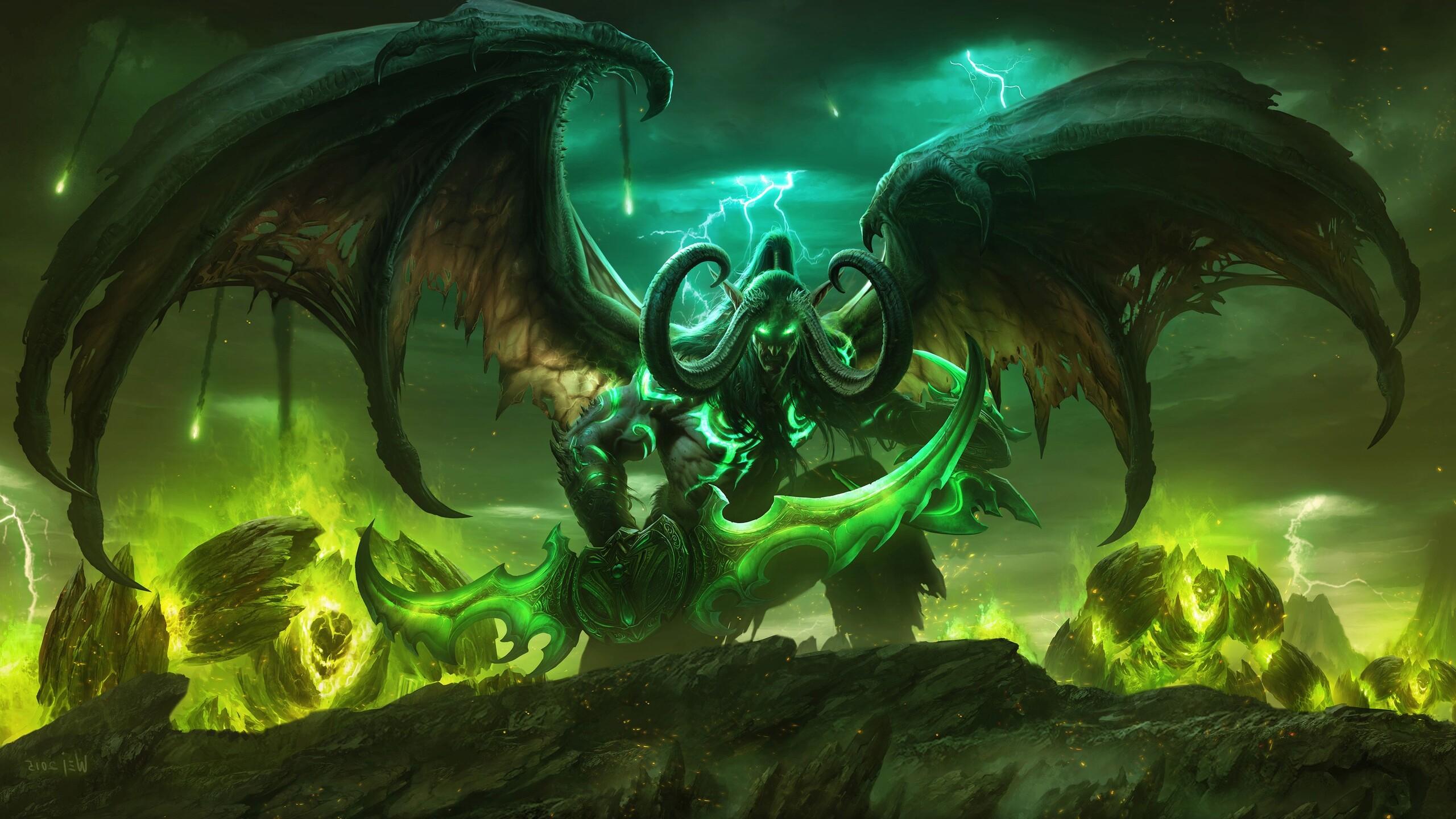 2560x1440 2016 World Of Warcraft Legion 1440p Resolution Hd 4k