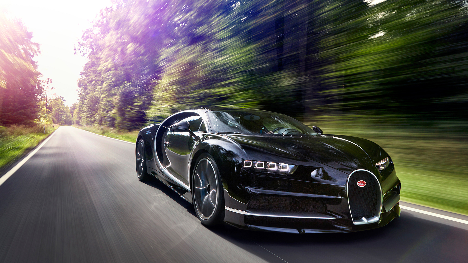 1920x1080 2017 Bugatti Chiron In Motion Laptop Full HD 1080P HD 4k Wallpapers, Images