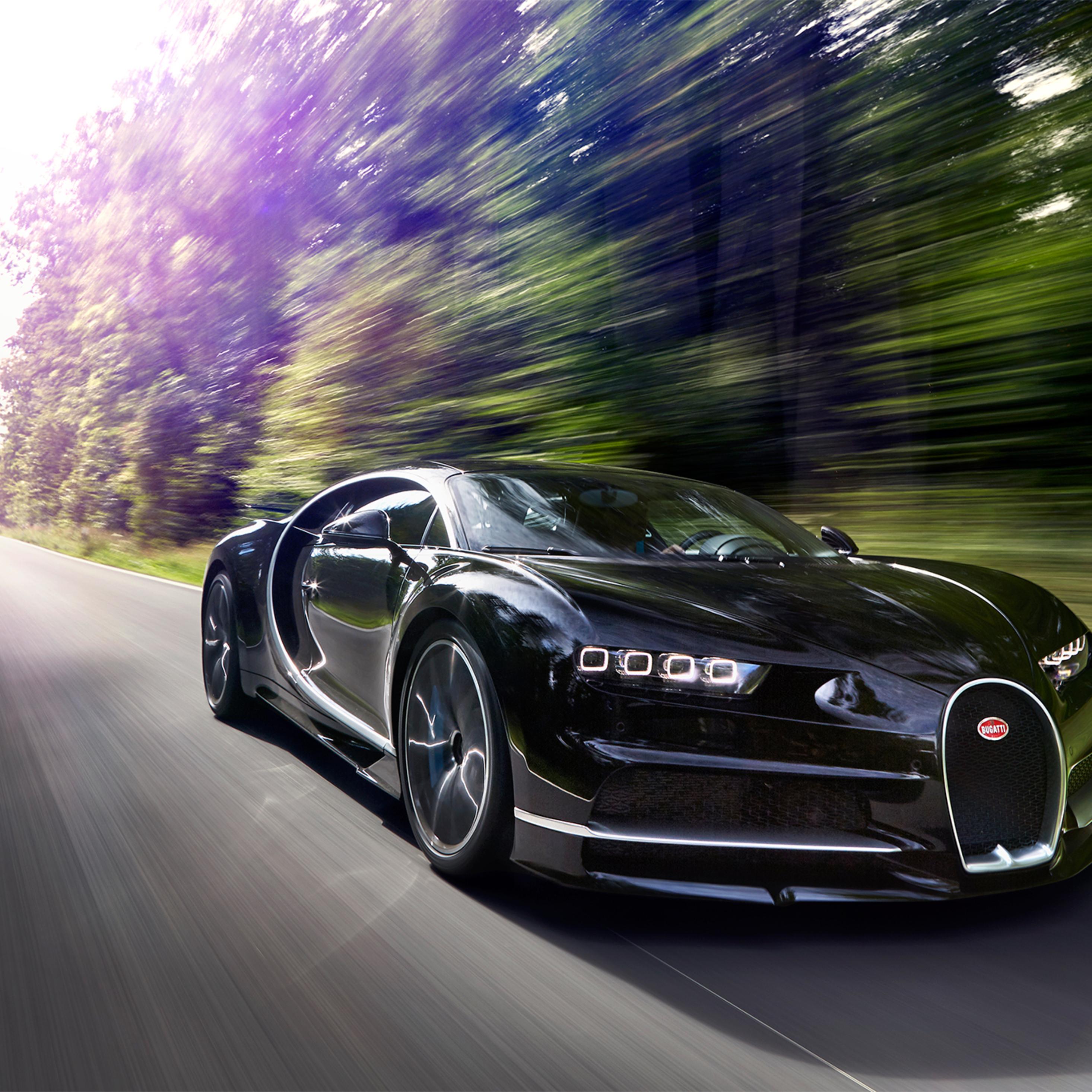 2932x2932 2017 Bugatti Chiron In Motion Ipad Pro Retina