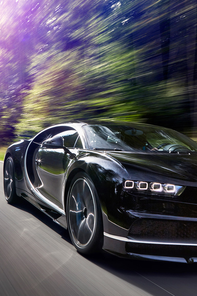 640x960 2017 Bugatti Chiron In Motion Iphone 4 Iphone 4s Hd 4k