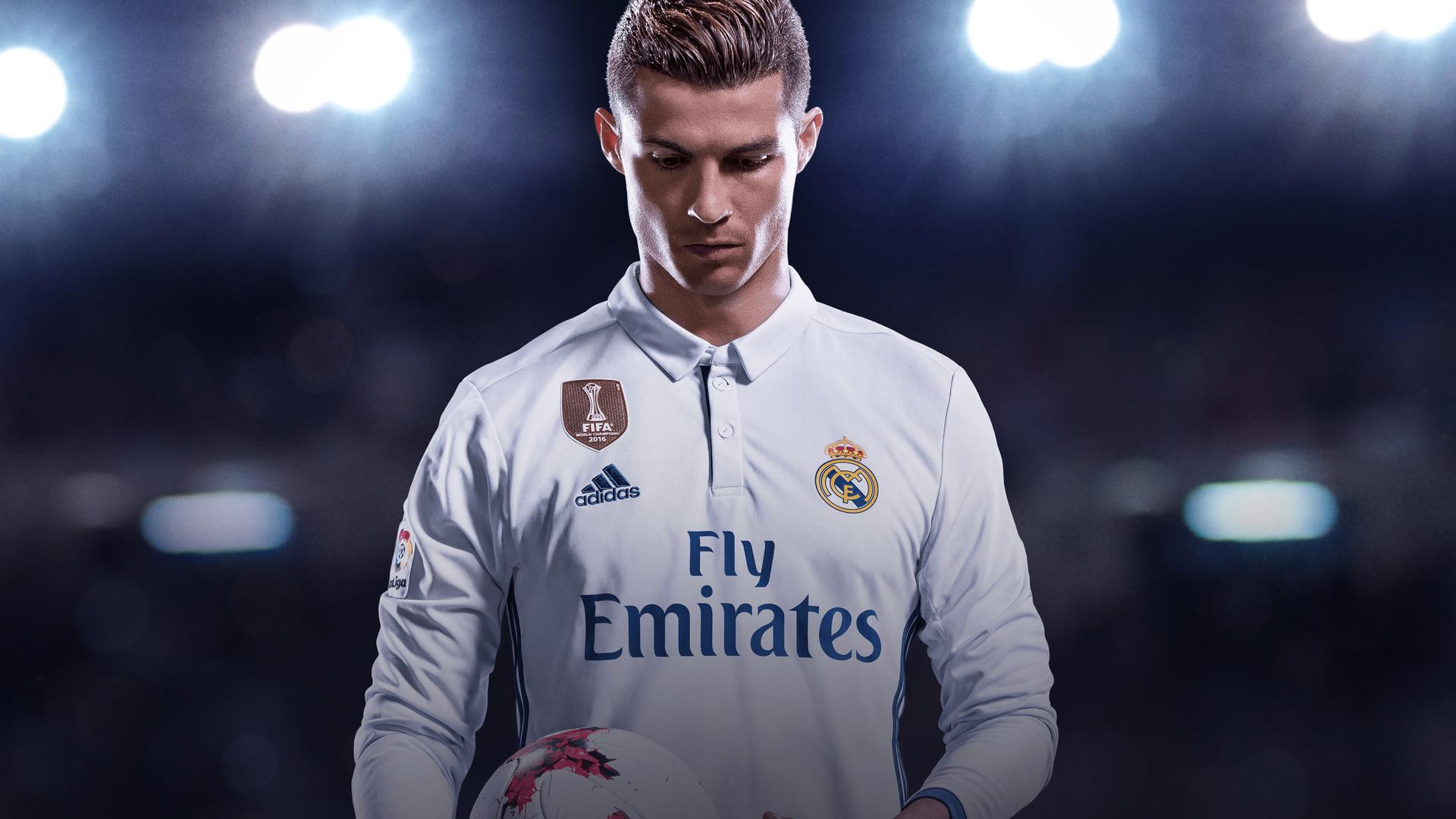 1920x1080 2017 Fifa 18 Cristiano Ronaldo Laptop Full HD