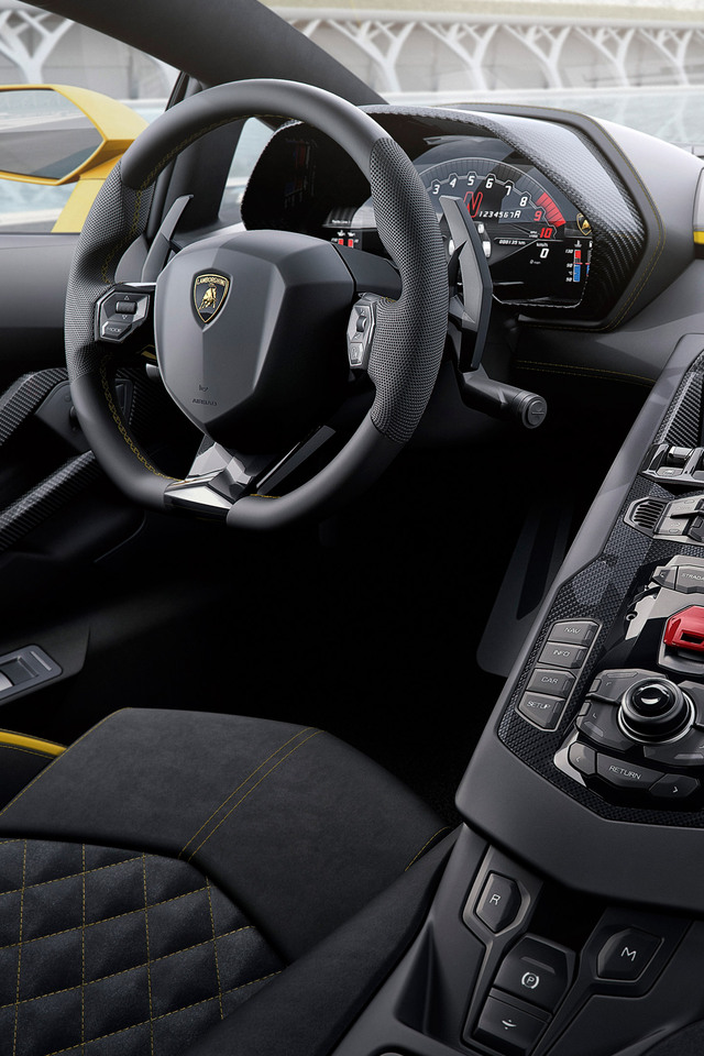 640x960 2017 lamborghini aventador s interior 8k iphone 4 iphone 4s hd 4k wallpapers images. Black Bedroom Furniture Sets. Home Design Ideas