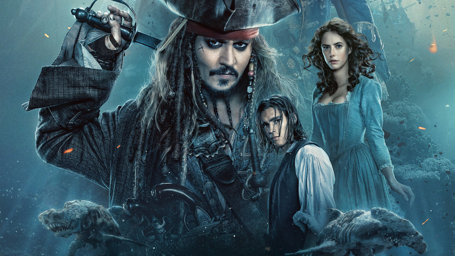 1920x1080 2017 pirates of the caribbean dead men tell no tales movie laptop full hd 1080p hd 4k - Pirates of the caribbean images hd ...