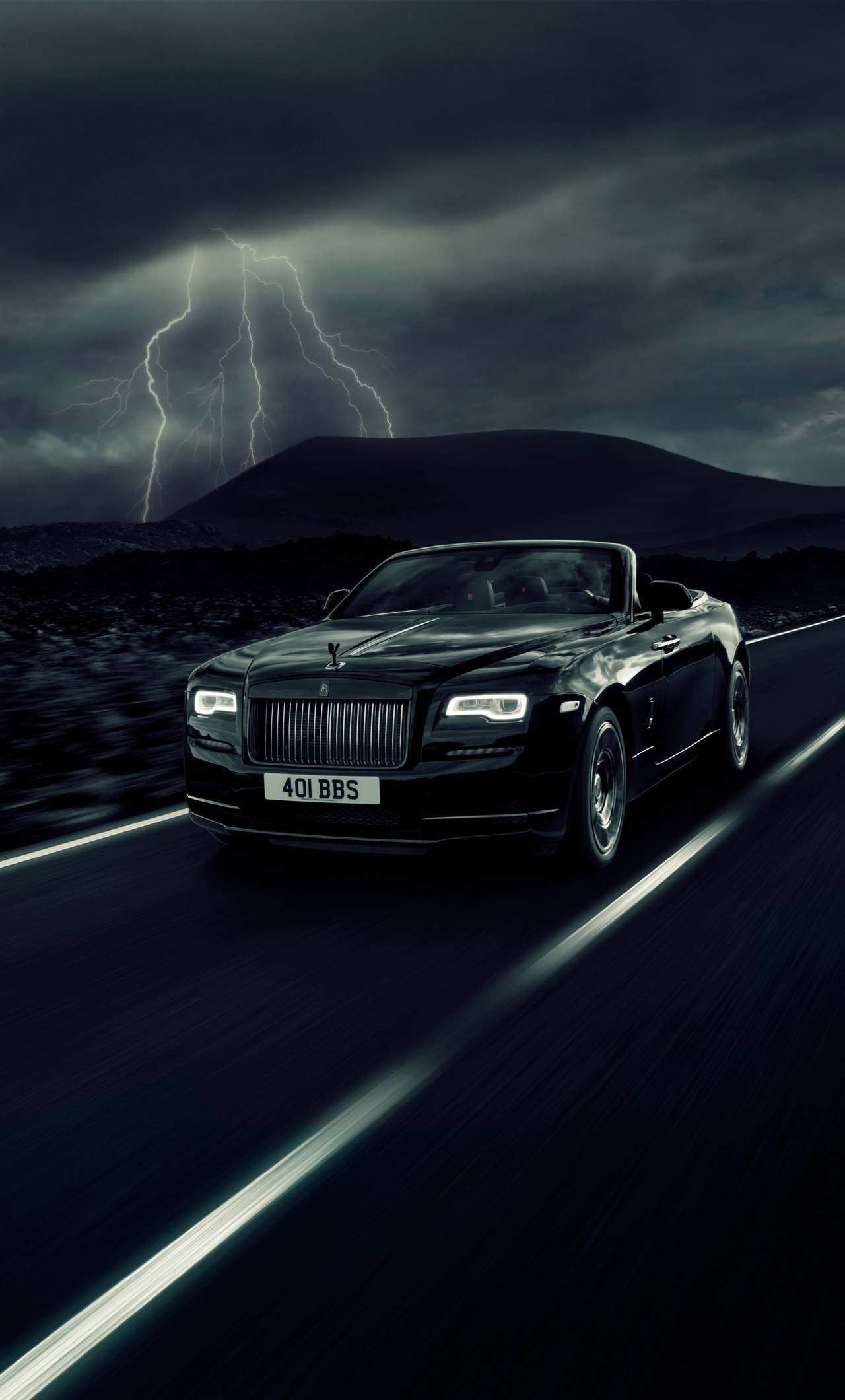 1280x2120 2017 Rolls Royce Dawn Black Badge Iphone 6 Hd 4k