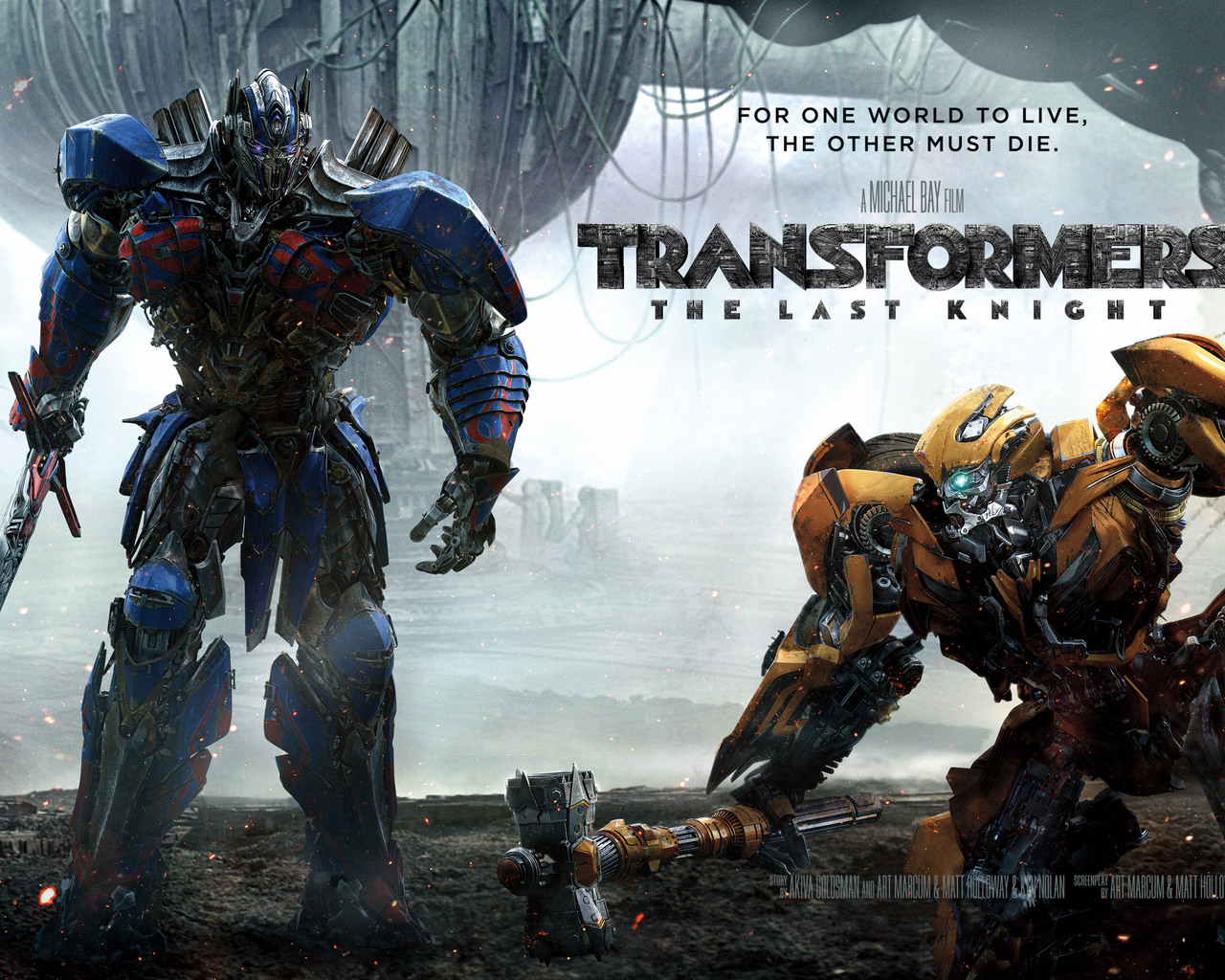 1280x1024 2017 Transformers The Last Knight Movie