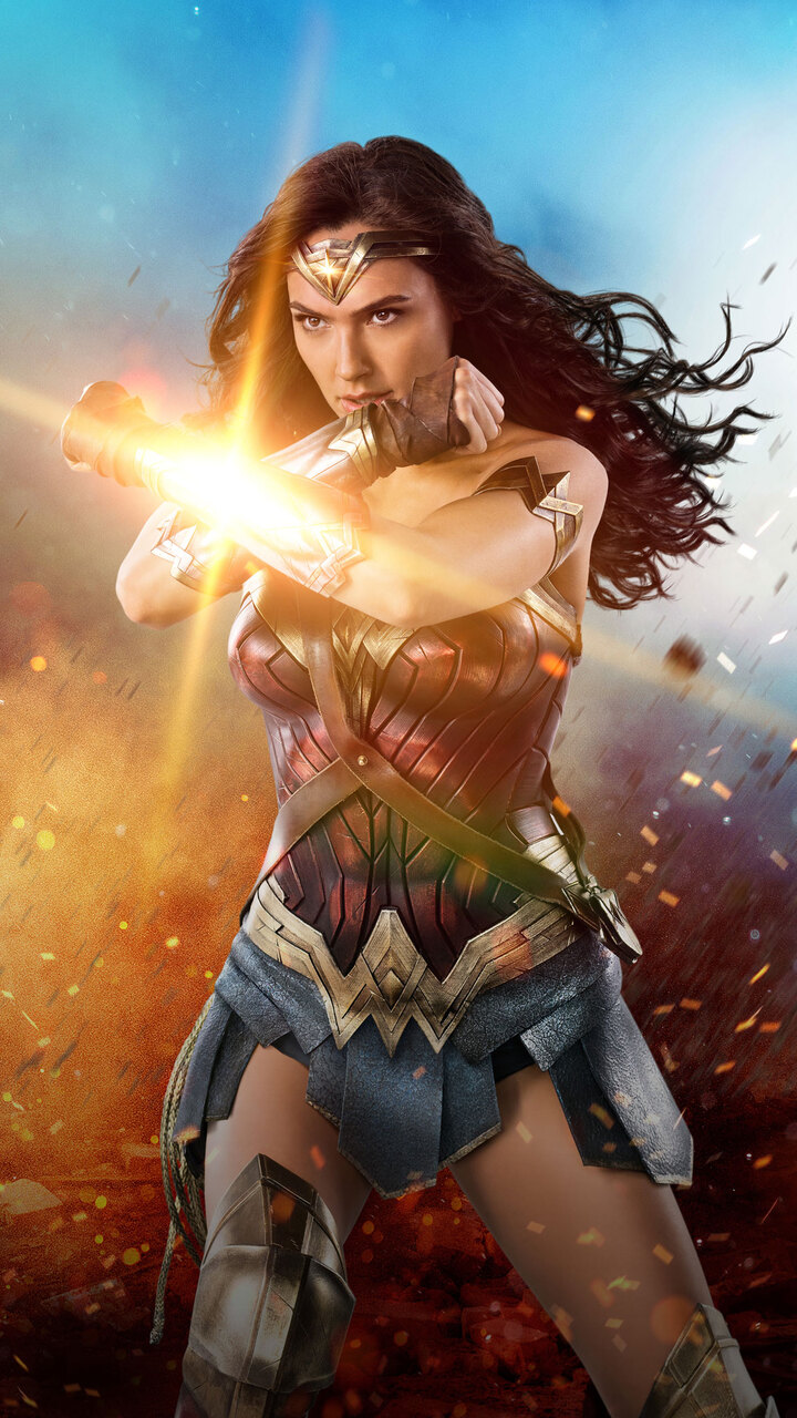 720x1280 2017 wonder woman 4k moto g x xperia z1 z3 super woman logo with msw inside it superwoman logo images