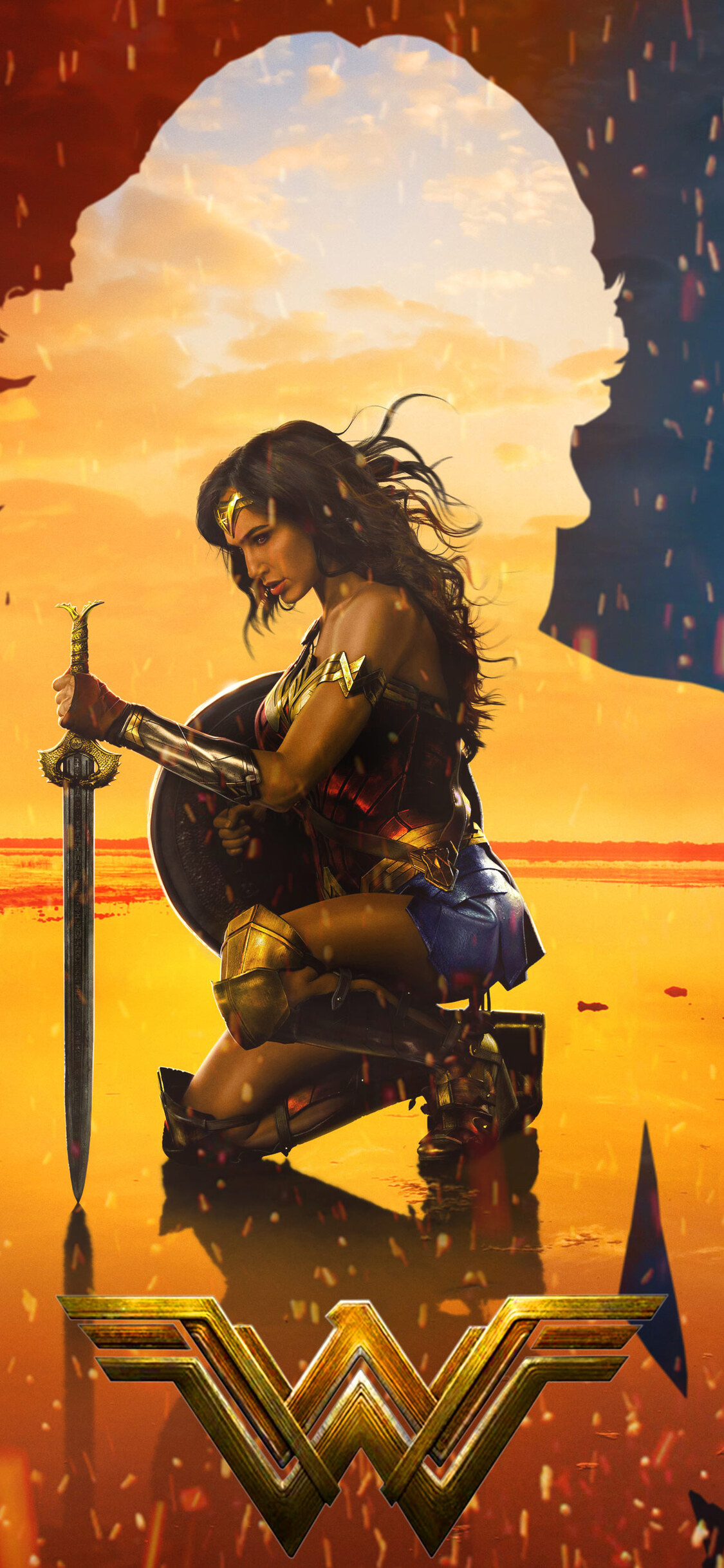 2017 Wonder Woman Artwork Po