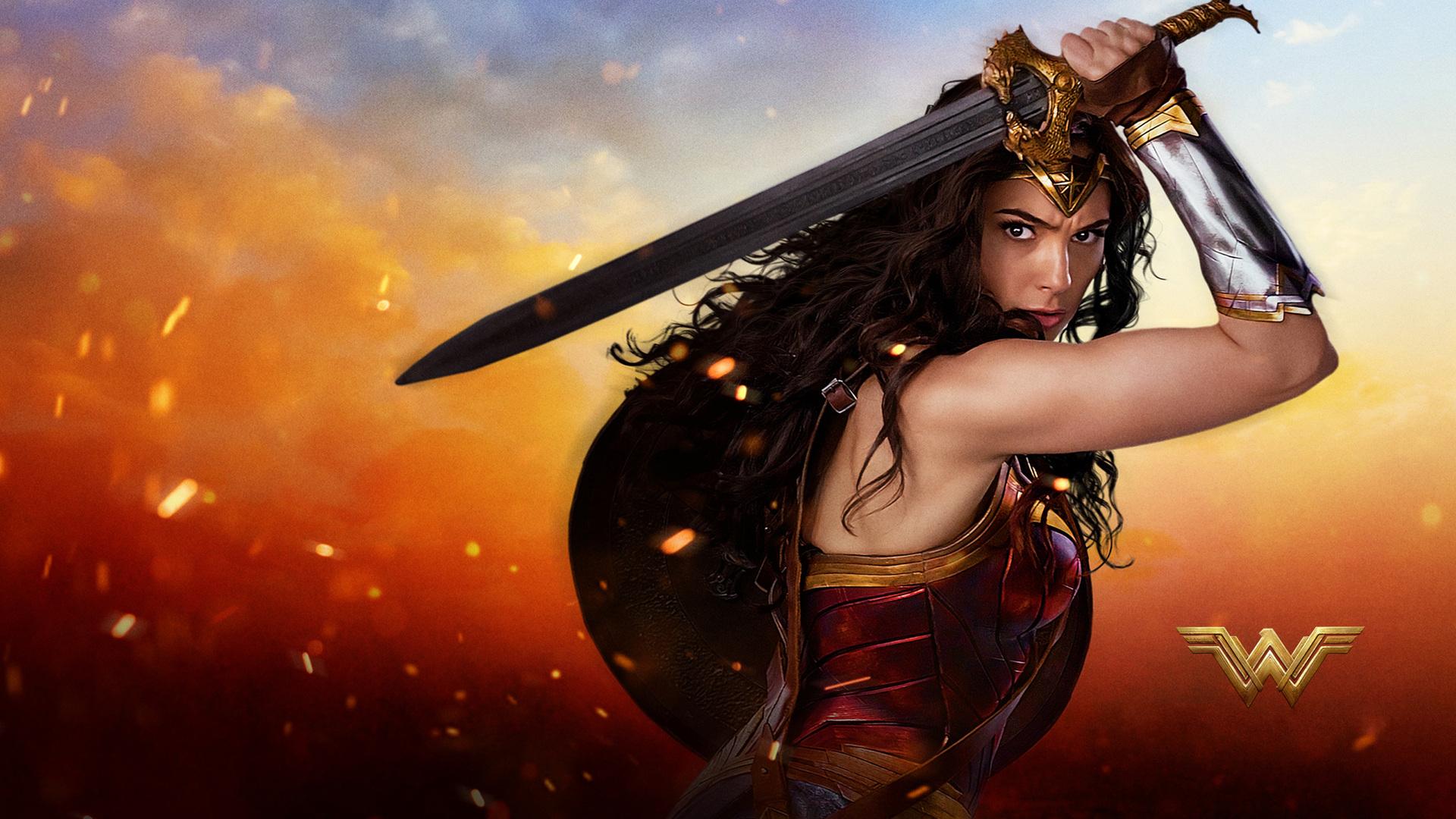 Wonder Woman 2017 Wallpaper Full Hd Free Download: 1920x1080 2017 Wonder Woman HD Laptop Full HD 1080P HD 4k