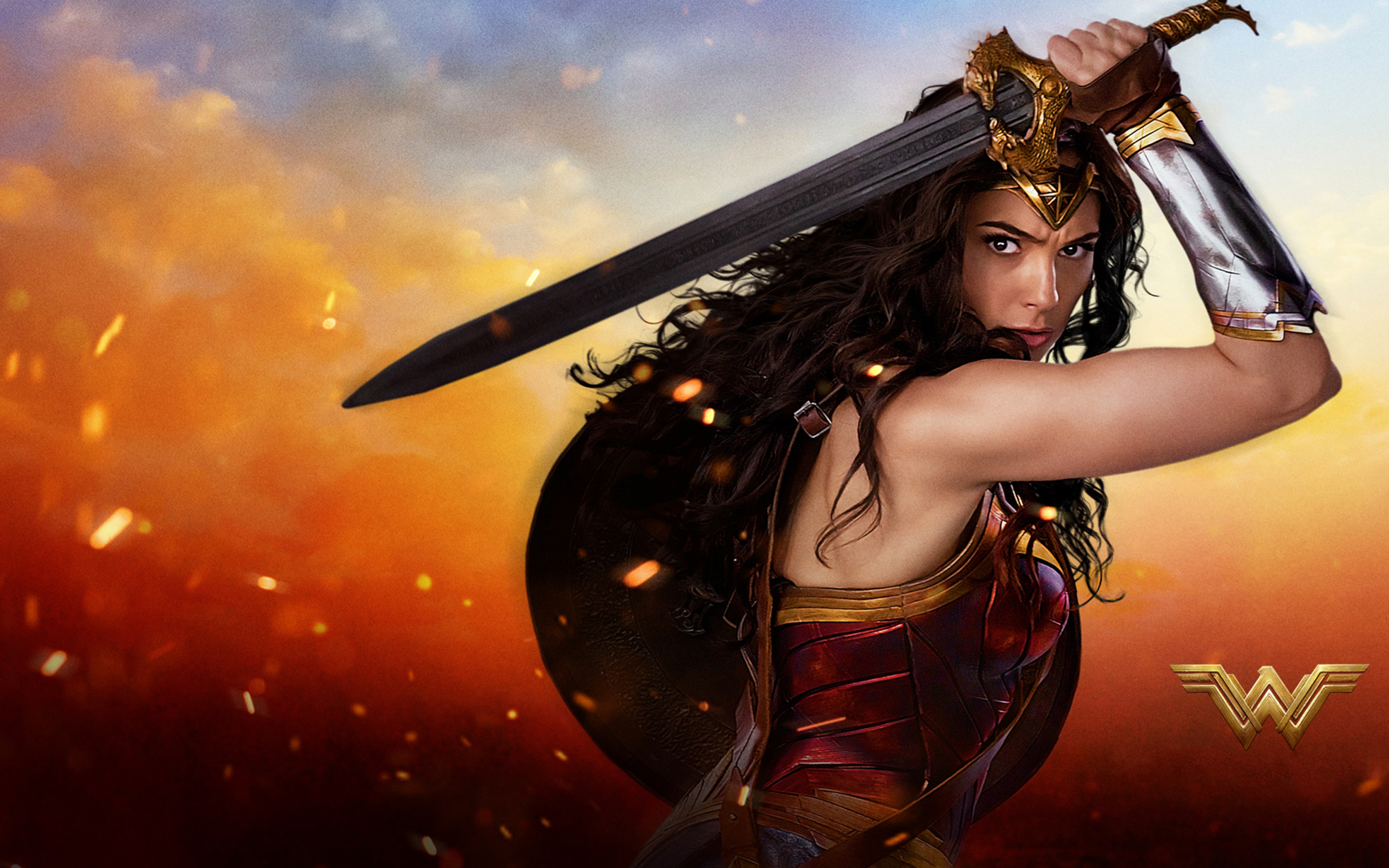 2017 Wonder Woman 4k Hd Movies 4k Wallpapers Images: 3840x2400 2017 Wonder Woman HD 4k HD 4k Wallpapers, Images