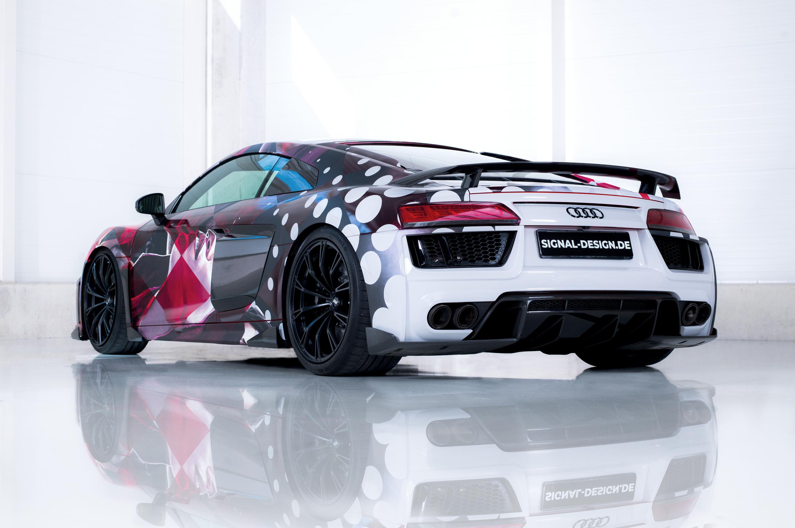 2560x1700 2018 Abt Audi R8 Art Color Chromebook Pixel Hd 4k
