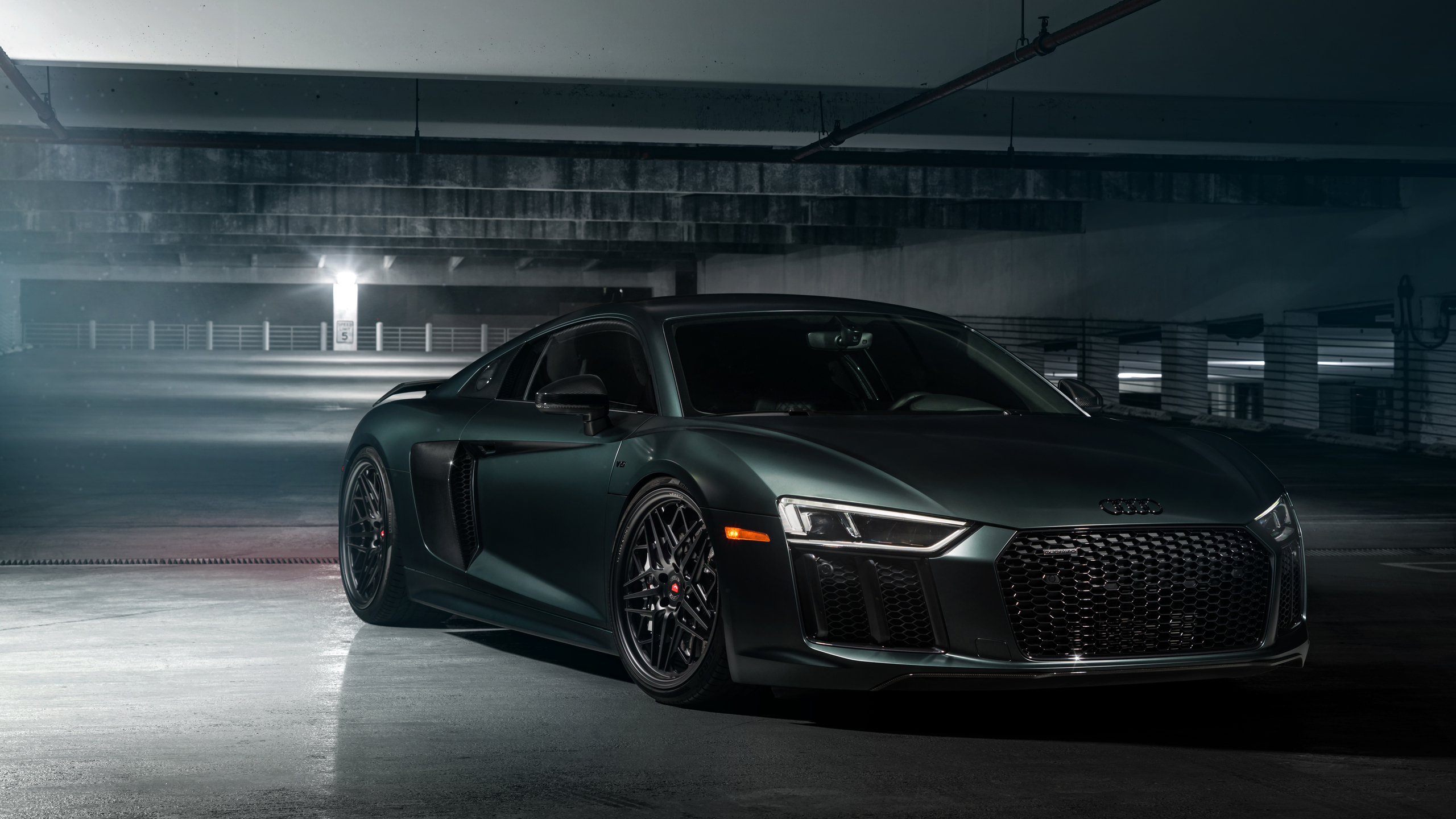 2560x1440 2018 Audi R8 V10 Front 1440p Resolution Hd 4k