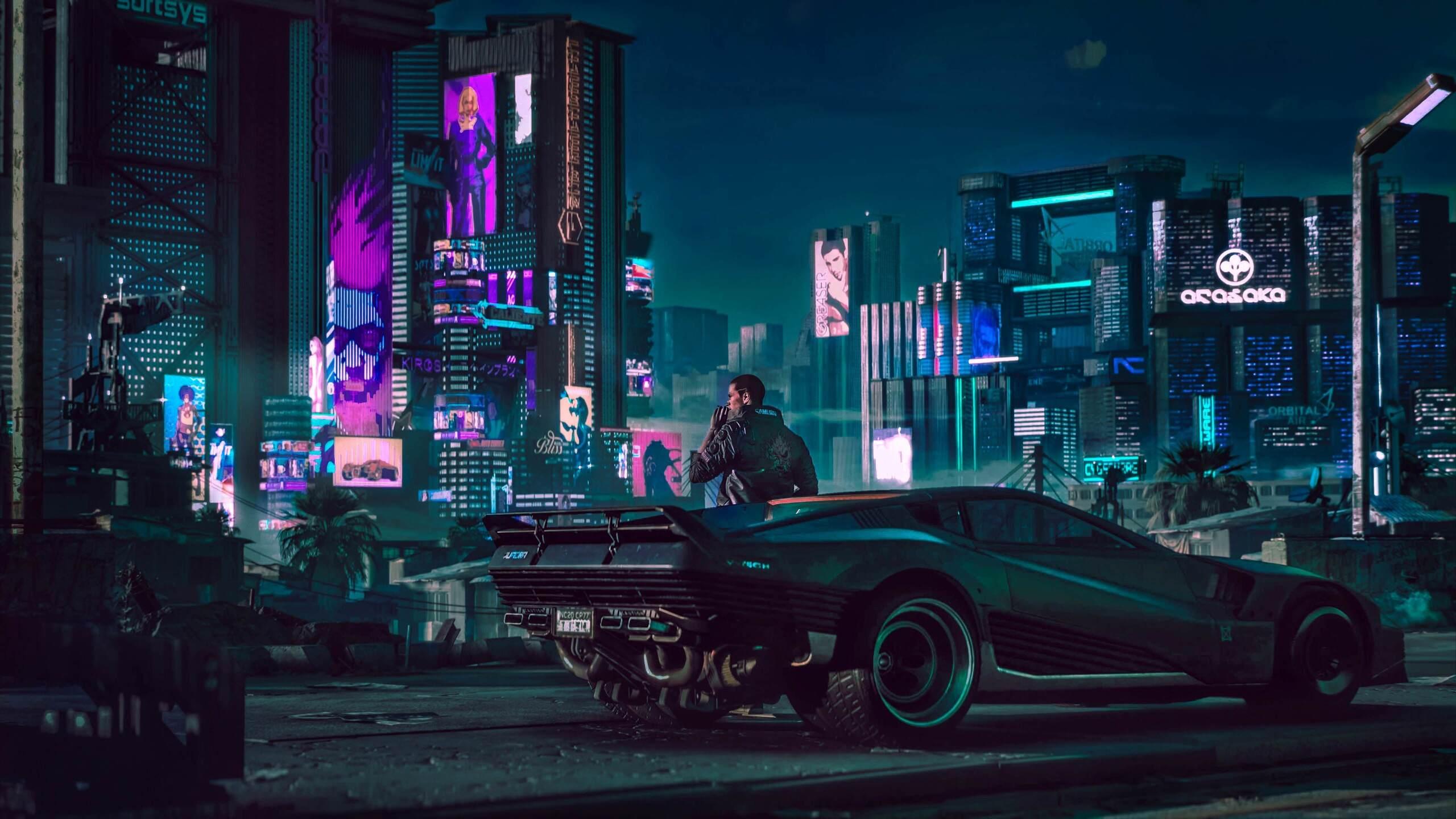 2560x1440 2018 cyberpunk 2077 4k 1440p resolution hd 4k wallpapers images backgrounds photos - Cyberpunk 2077 wallpaper 4k ...