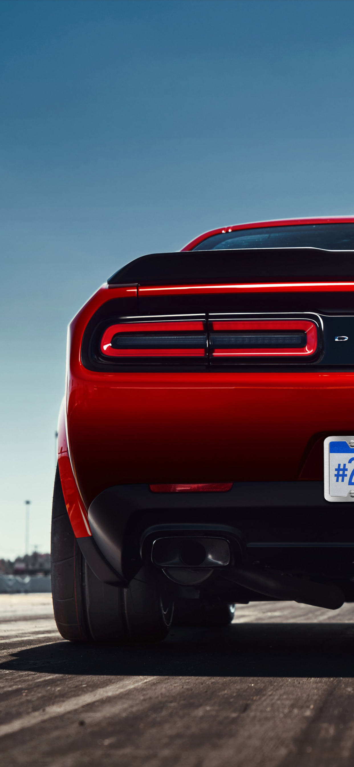 1242x2688 2018 Dodge Challenger Srt Iphone Xs Max Hd 4k Wallpapers Images Backgrounds Photos And Pictures