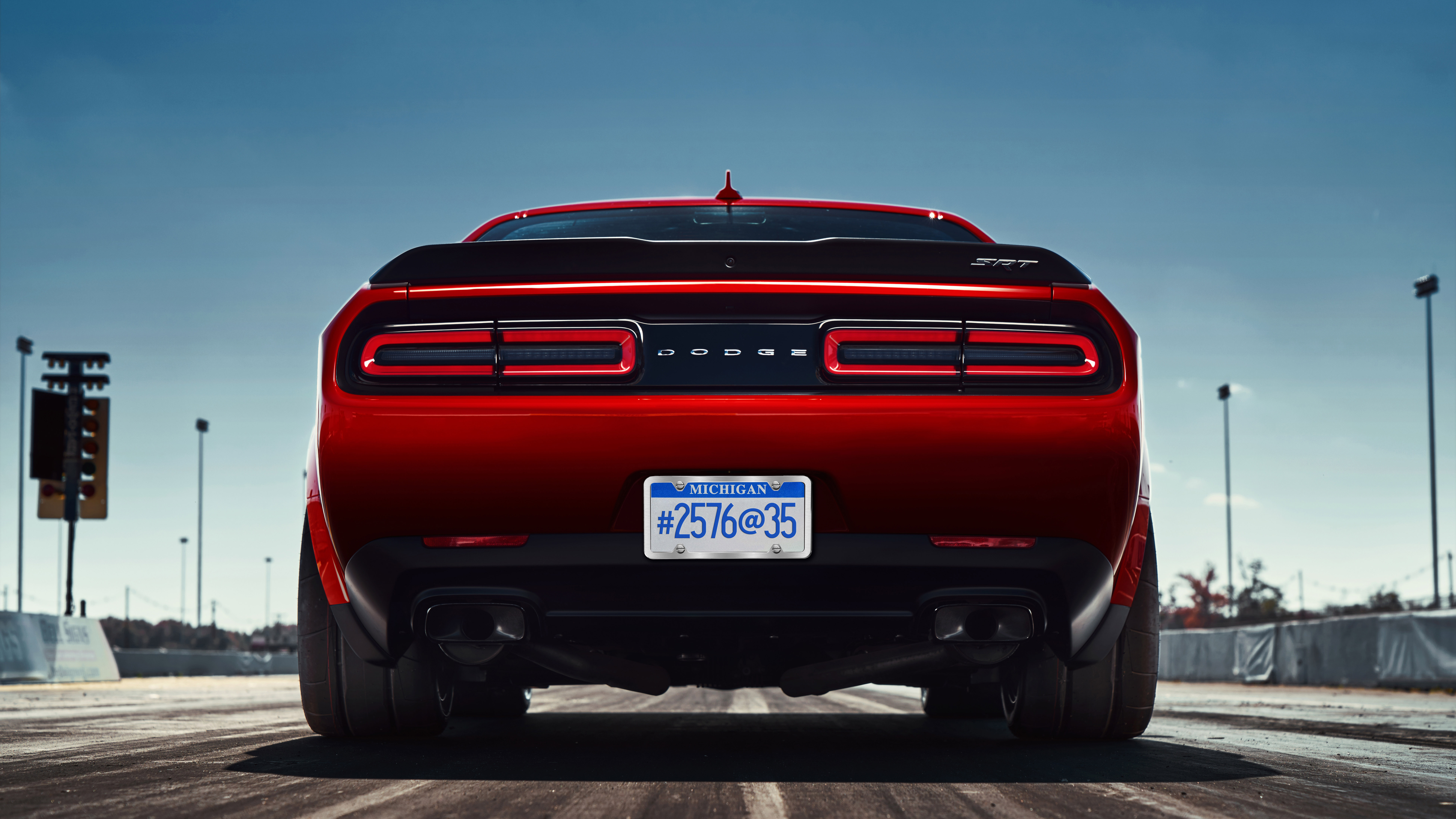 7680x4320 2018 Dodge Challenger SRT 8k HD 4k Wallpapers Images Backgrounds Photos And Pictures