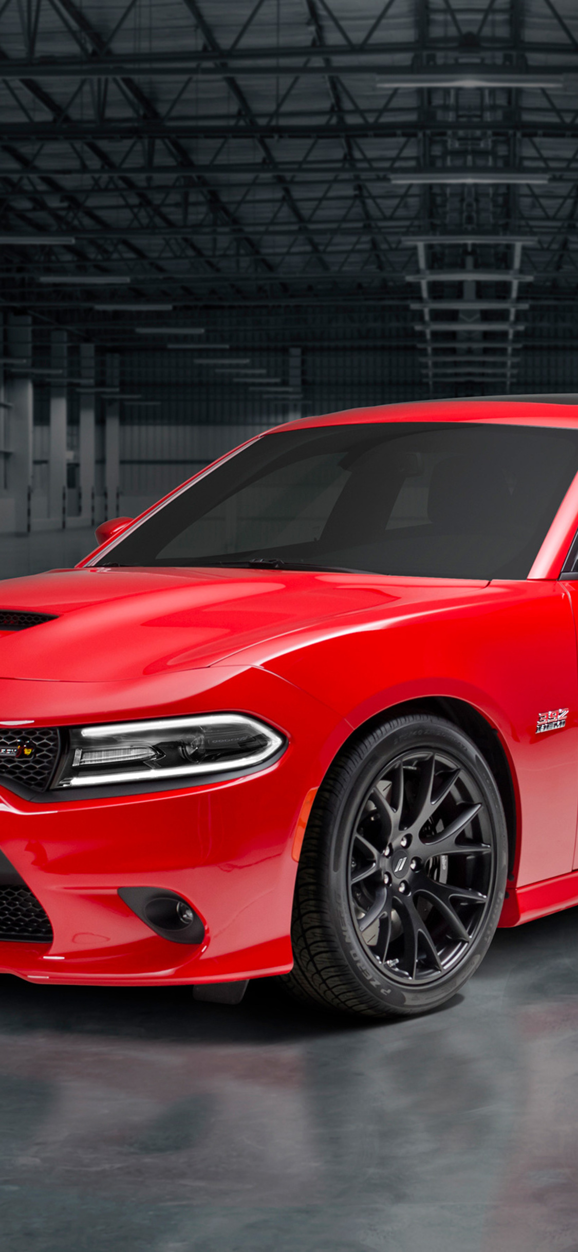 1125x2436 2018 Dodge Charger Super Scat Pack Iphone Xs Iphone 10