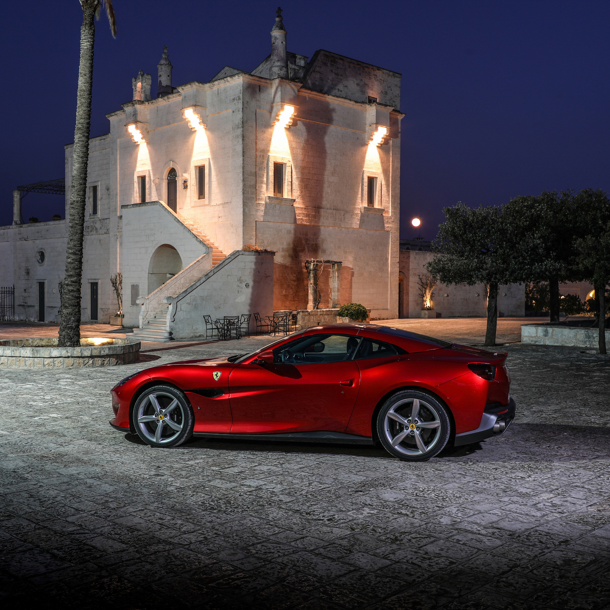 2048x2048 2018 Ferrari Portofino 4k Ipad Air HD 4k