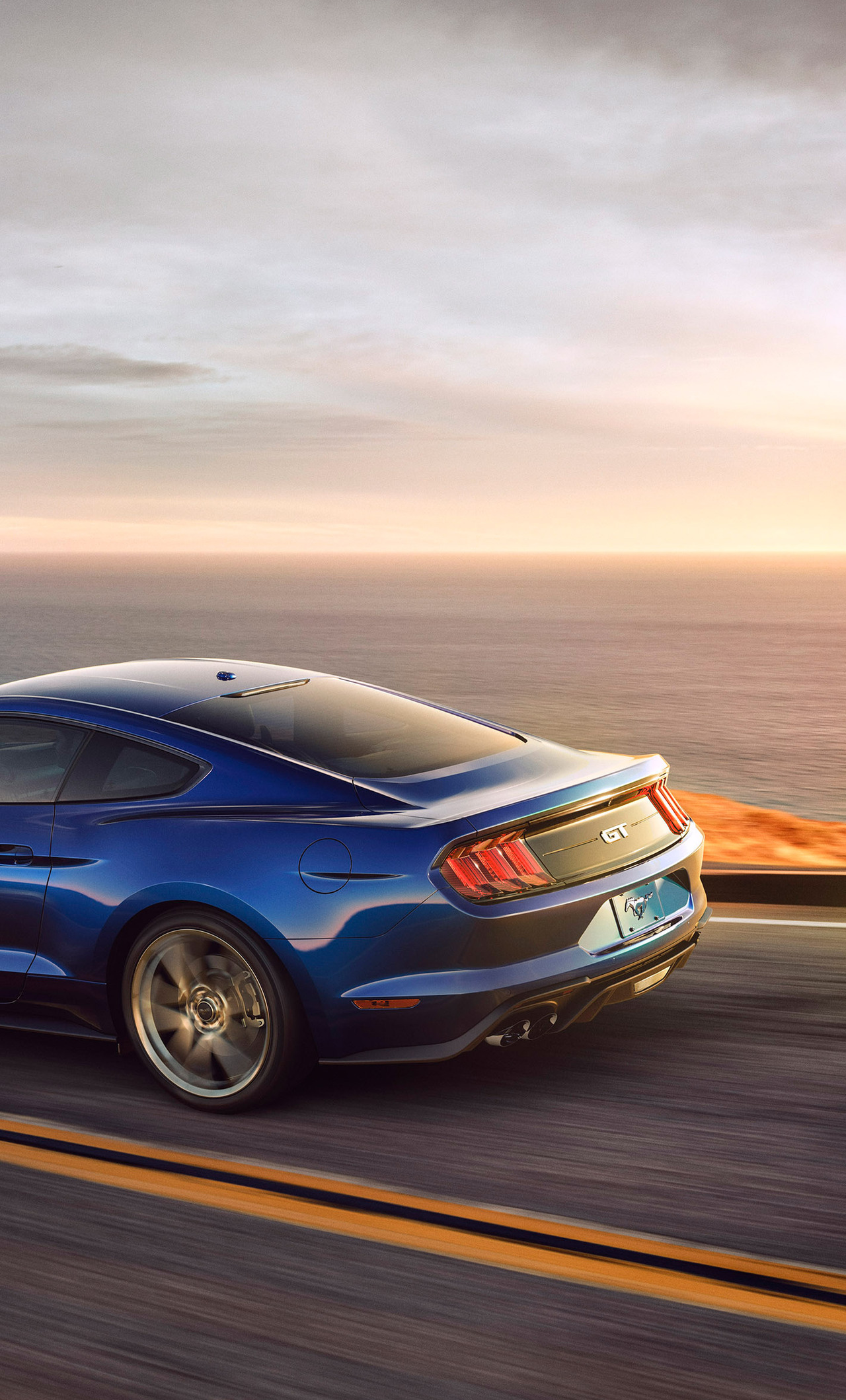 1280x2120 2018 ford mustang v8 gt iphone 6+ hd 4k wallpapers, images