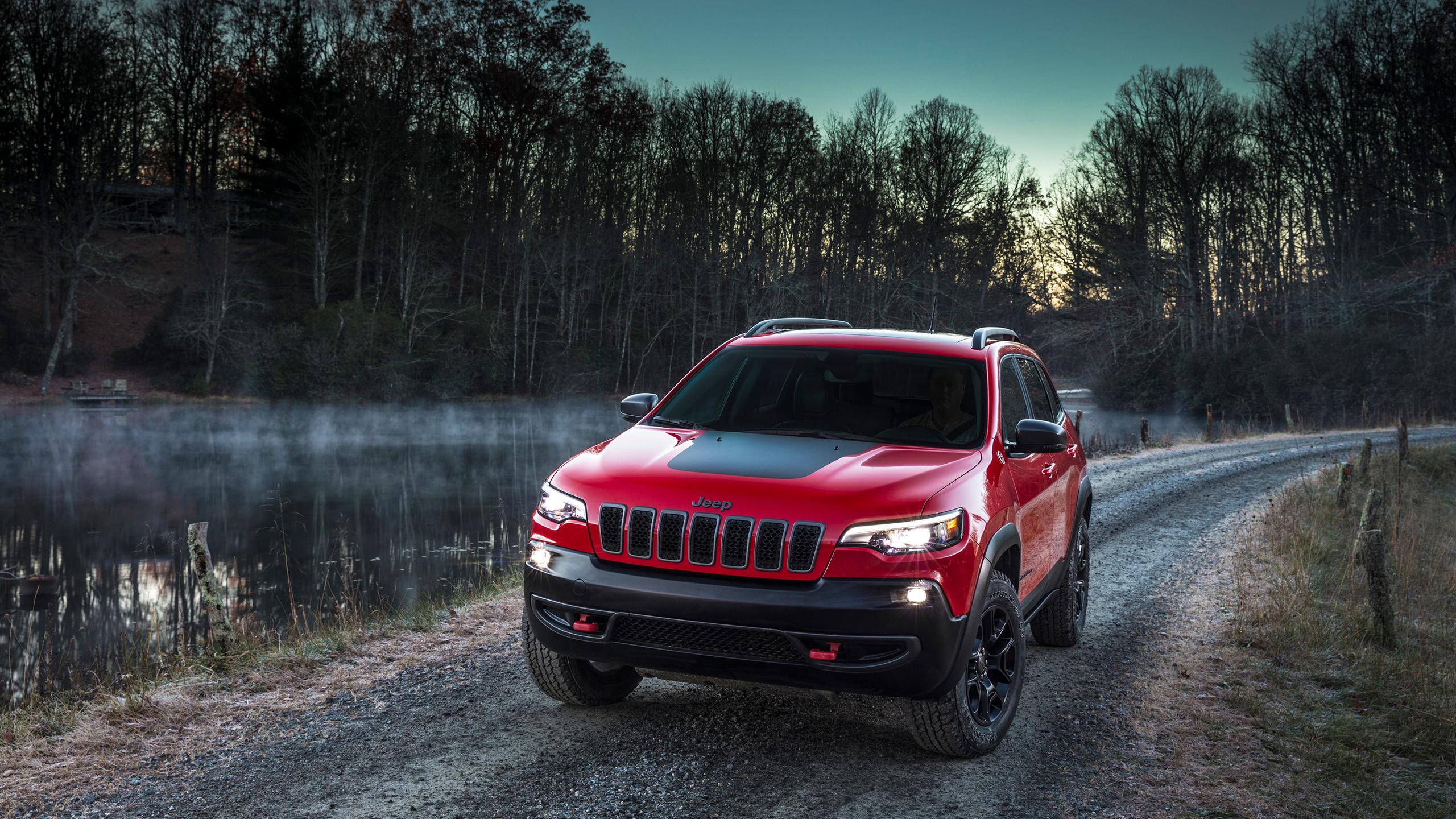2560x1440 2018 Jeep Cherokee Trailhawk 1440P Resolution HD ...