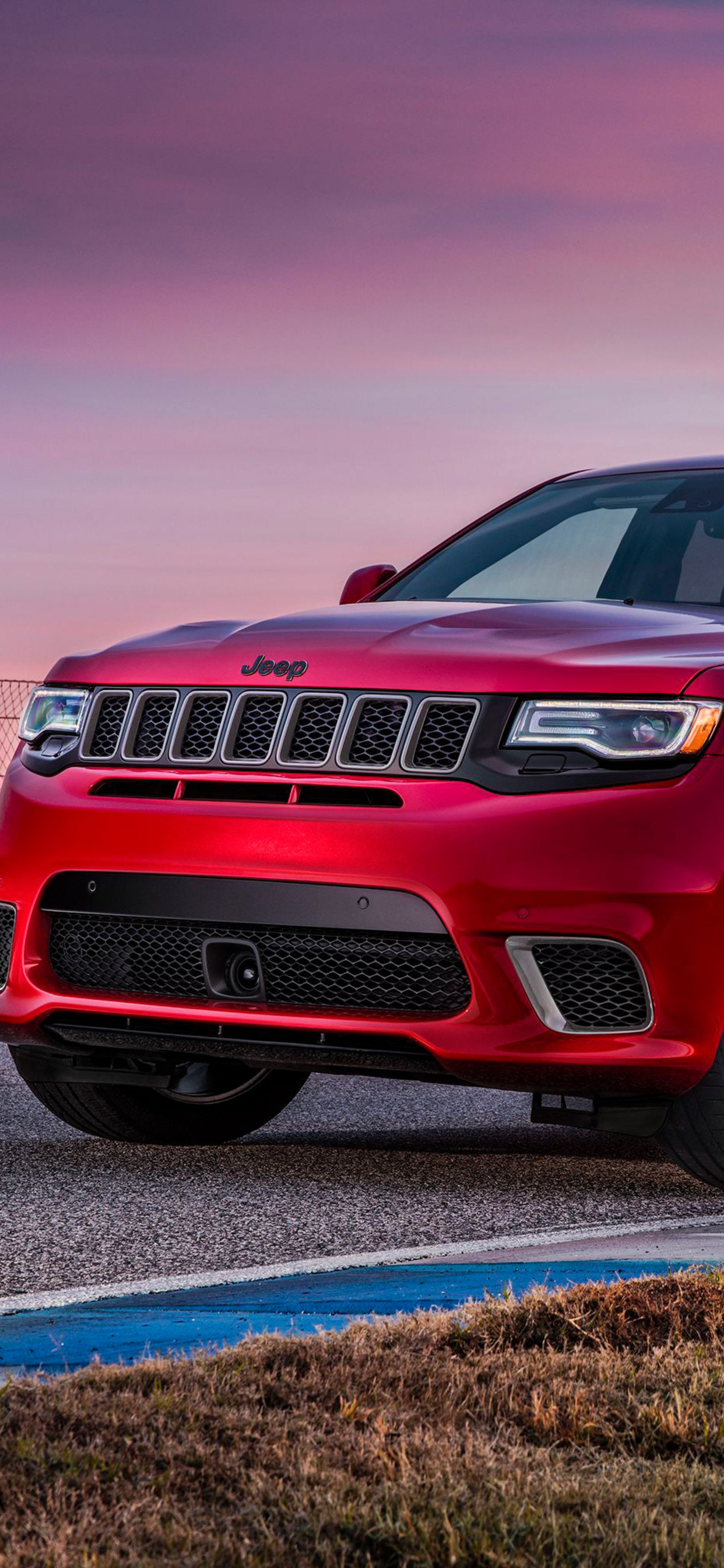 1242x2688 2018 Jeep Grand Cherokee Trackhawk Iphone Xs Max