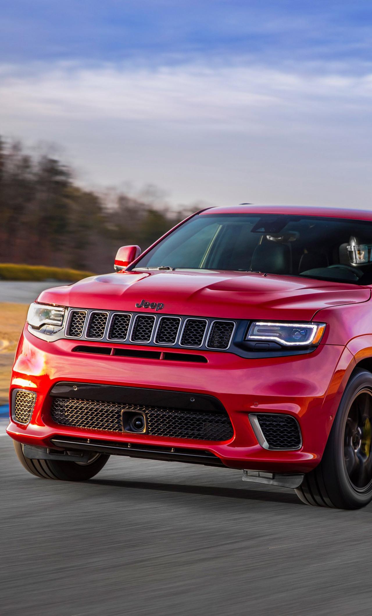 1280x2120 2018 Jeep Grand Cherokee Trackhawk Hd Iphone 6 Hd 4k