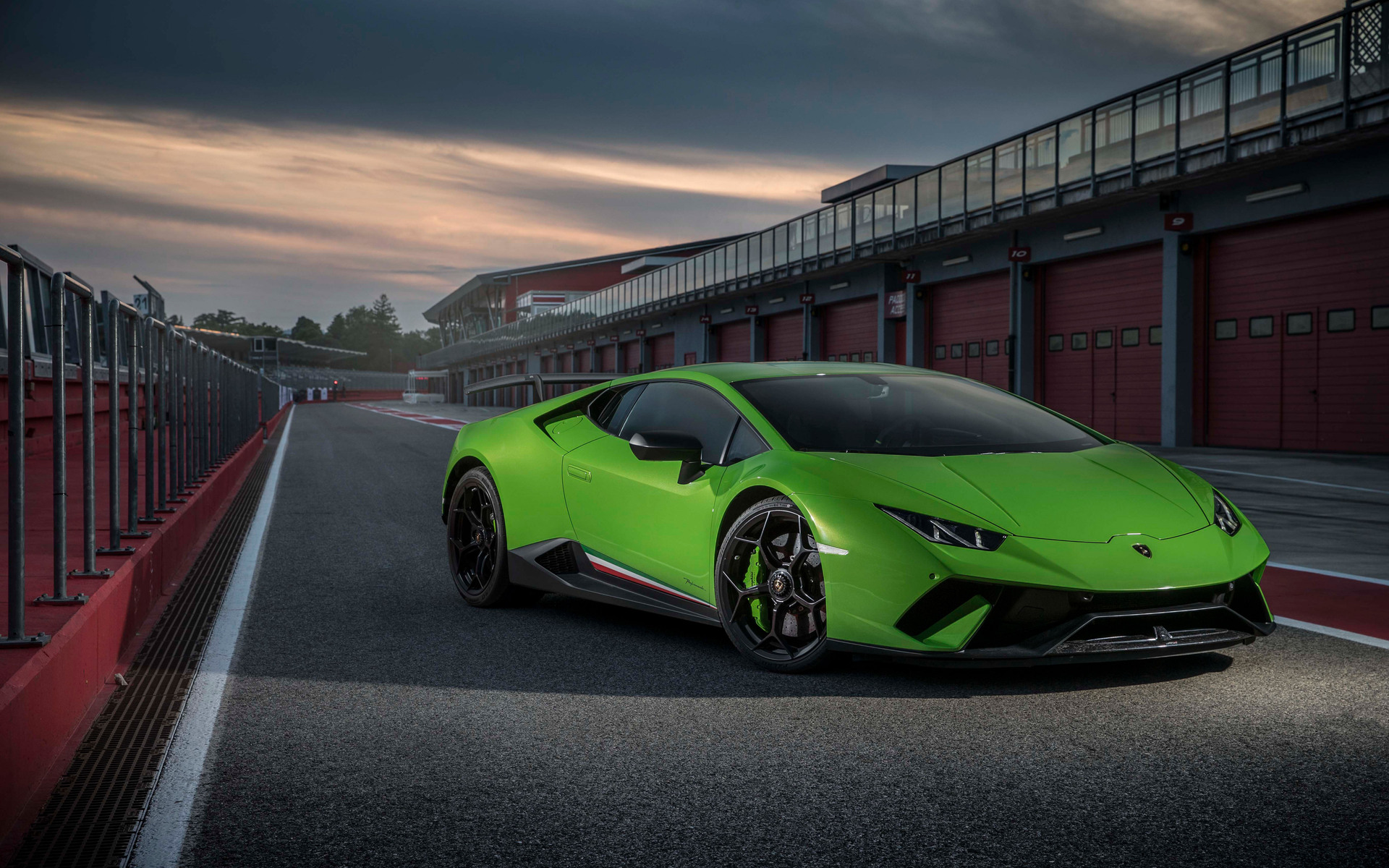 1920x1200 2018 Lamborghini Huracan Performante 4k 1080P ...