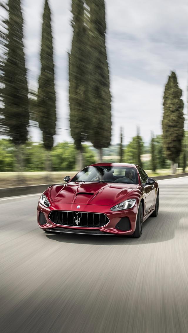 640x1136 2018 Maserati Granturismo Iphone 5 5c 5s Se Ipod