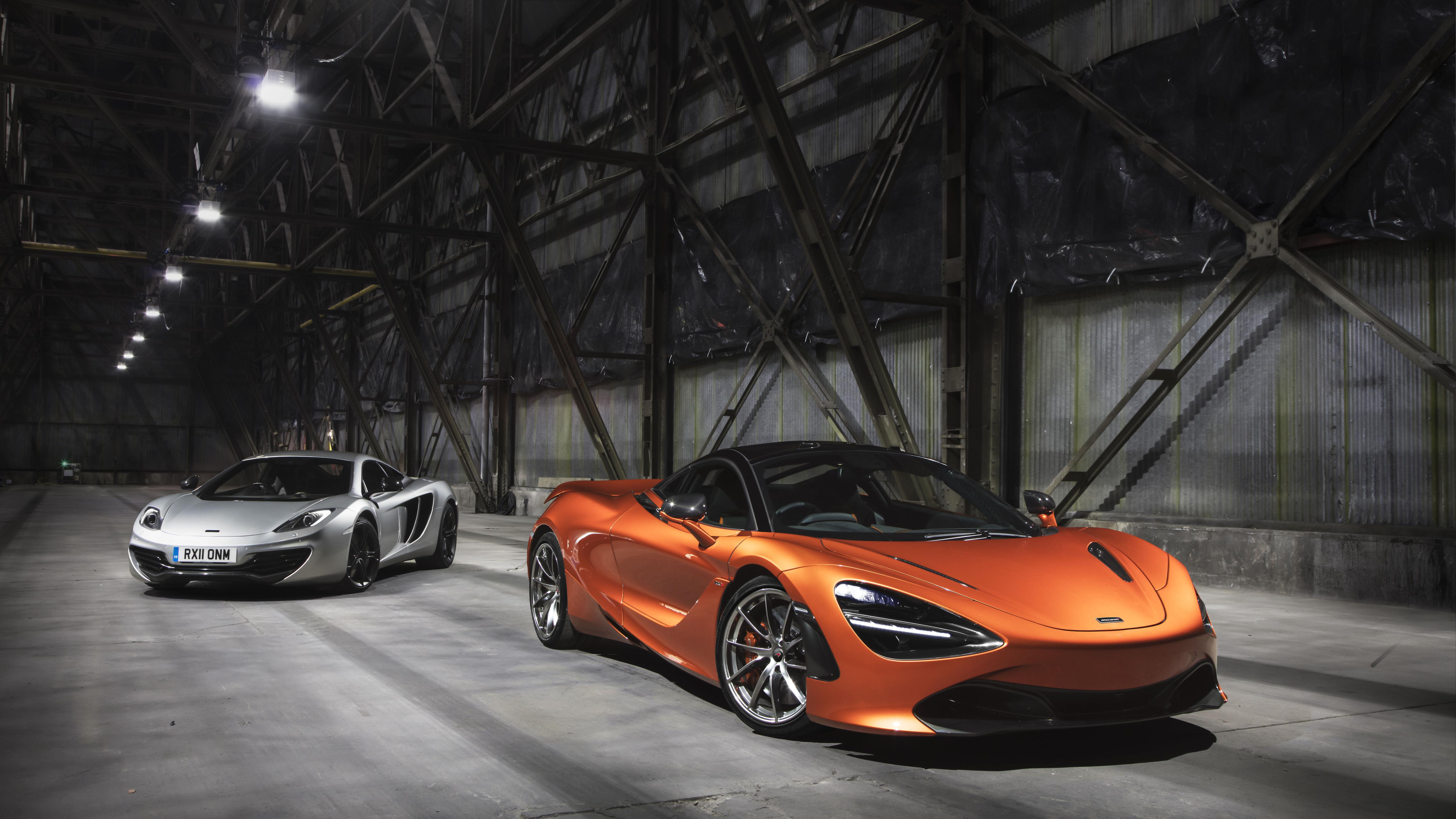 Orange McLaren P1 Concept - Sport car Wallpaper Download 5120x2880
