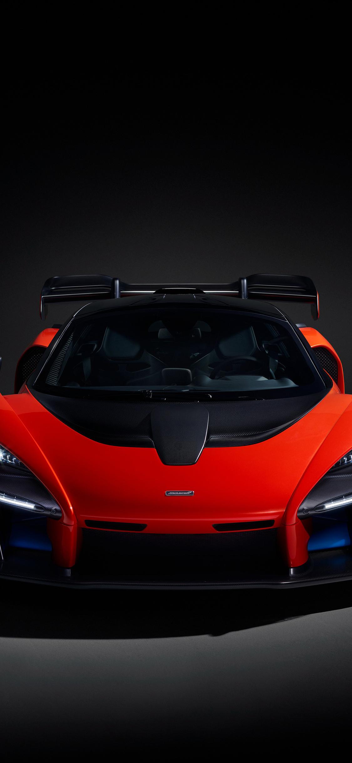 1125x2436 2018 McLaren Senna Front View Iphone XS,Iphone ...