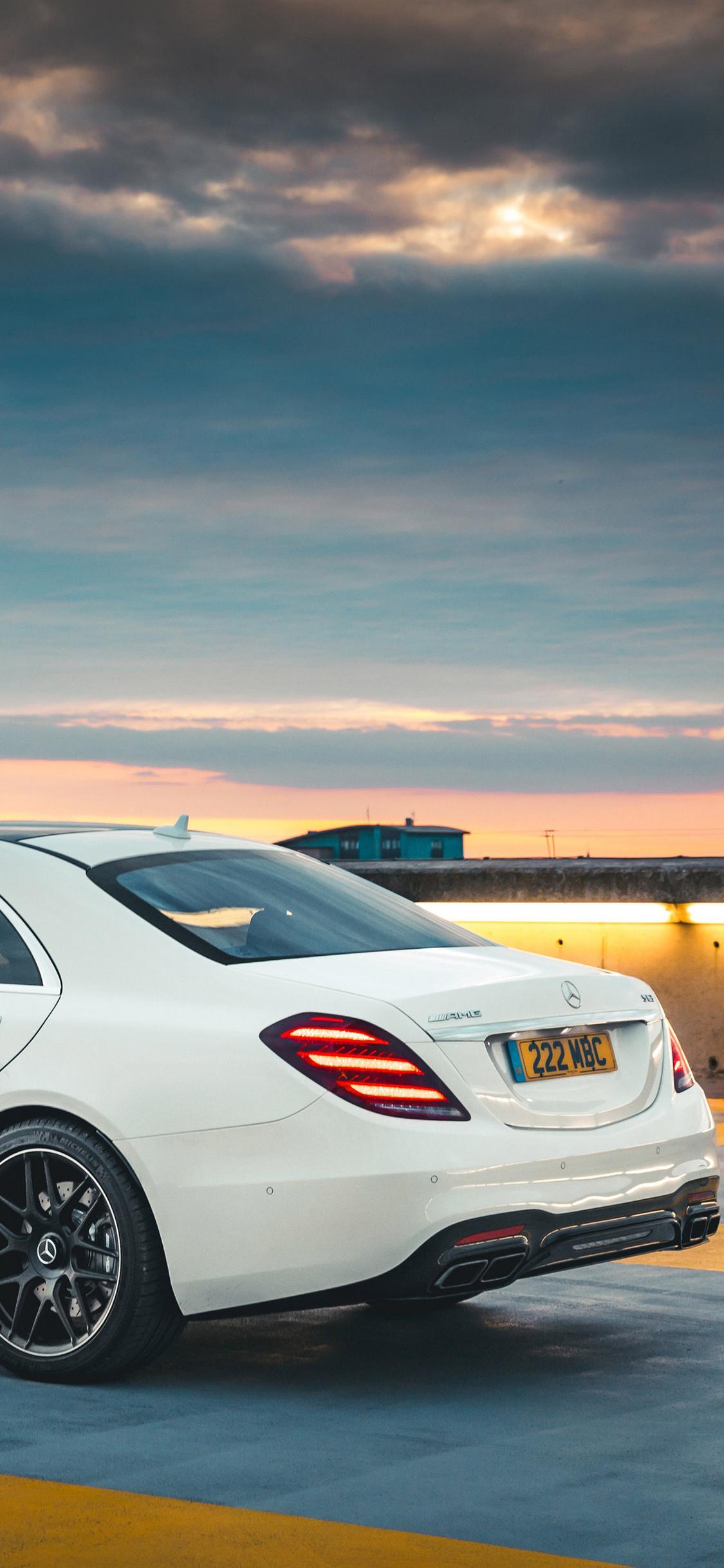 1125x2436 2018 Mercedes Amg S63 Iphone Xsiphone 10iphone X
