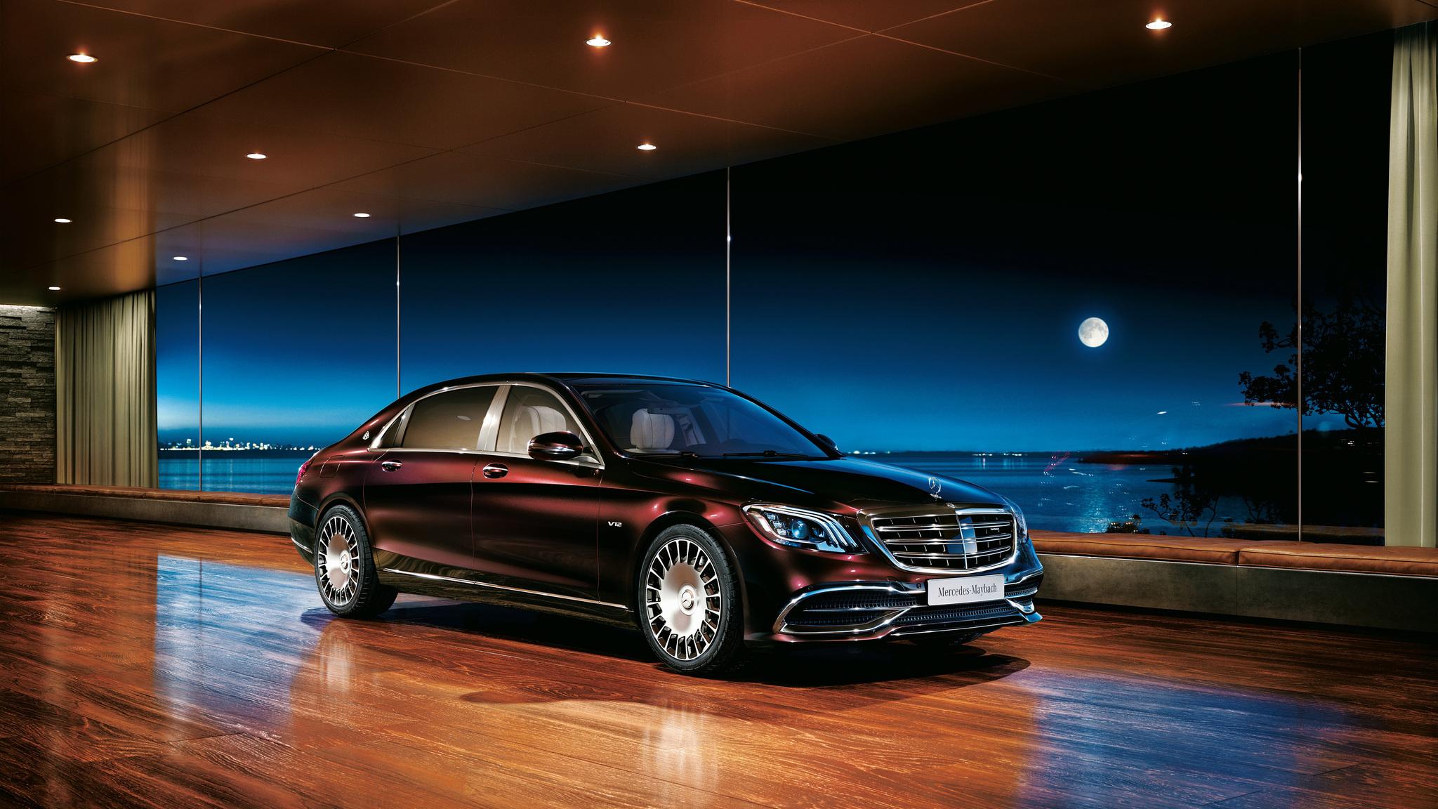 2048x1152 2018 Mercedes Benz S 650 2048x1152 Resolution HD ...