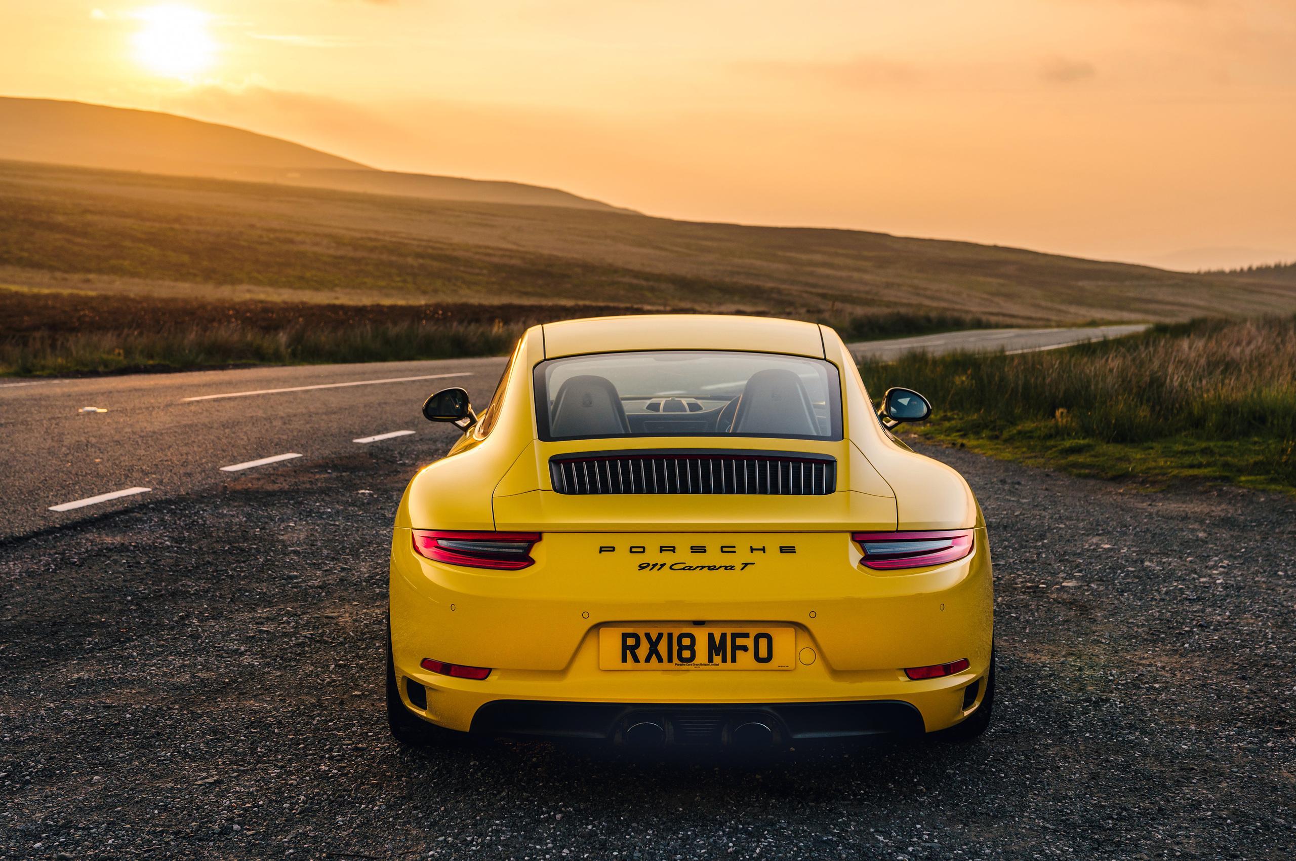 Car Review 2018 Porsche 911 Carrera T Driving Ca Youtube