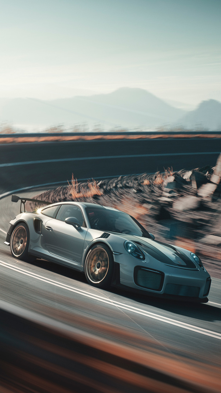 750x1334 2018 Porsche 911 Gt2 Rs Front Iphone 6 Iphone 6s
