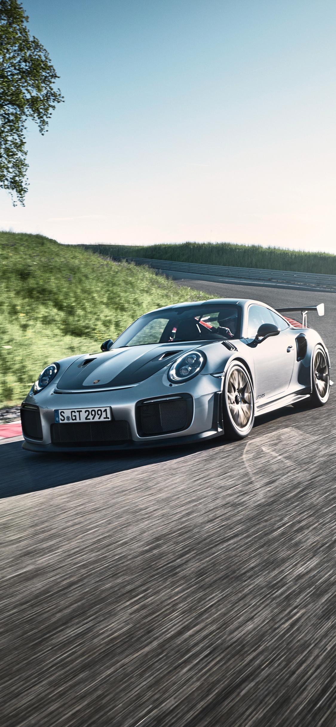 1125x2436 2018 Porsche 911 Gt2 Rs Iphone Xs Iphone 10 Iphone X Hd 4k
