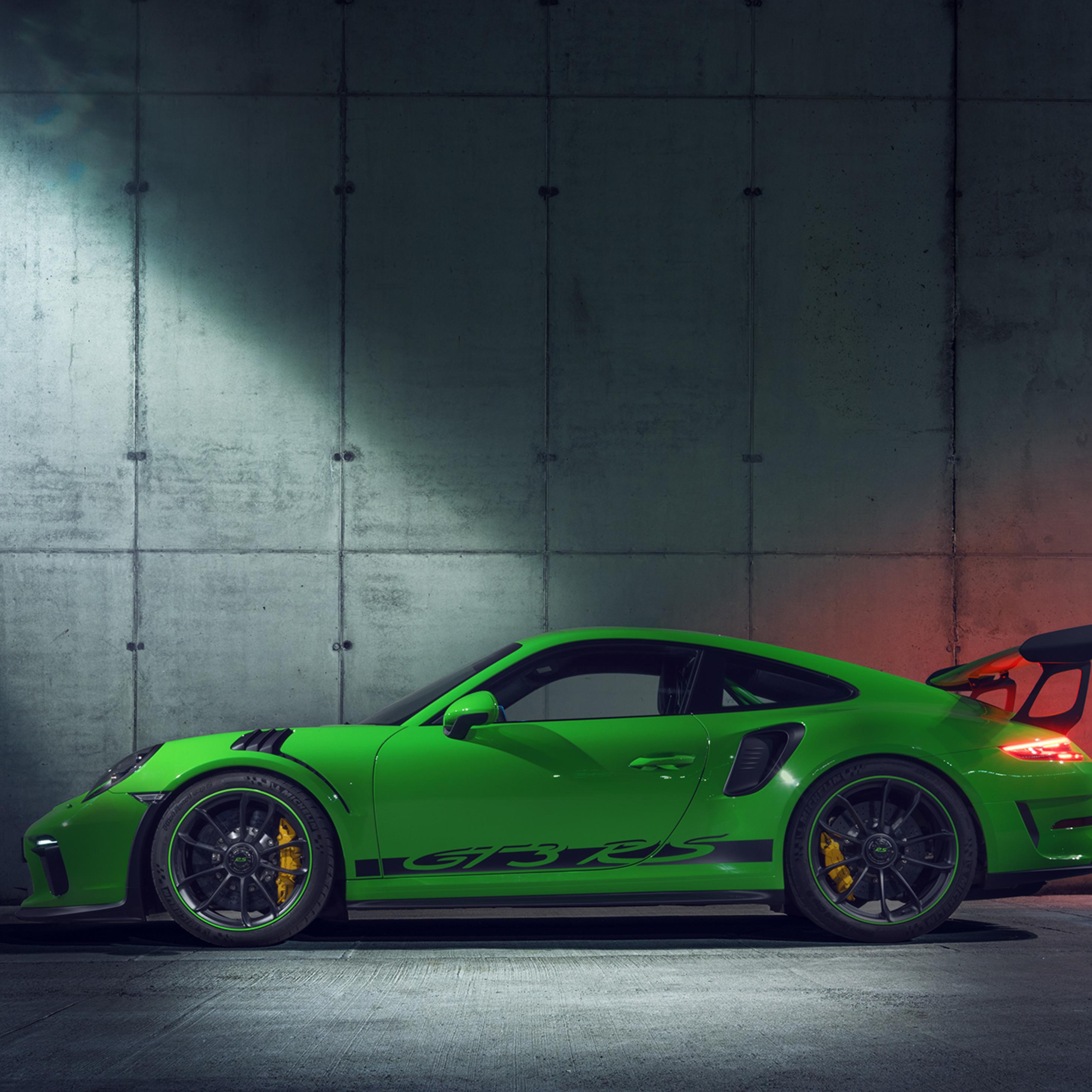 2018 Porsche 911 Gt3 Rs Side View It