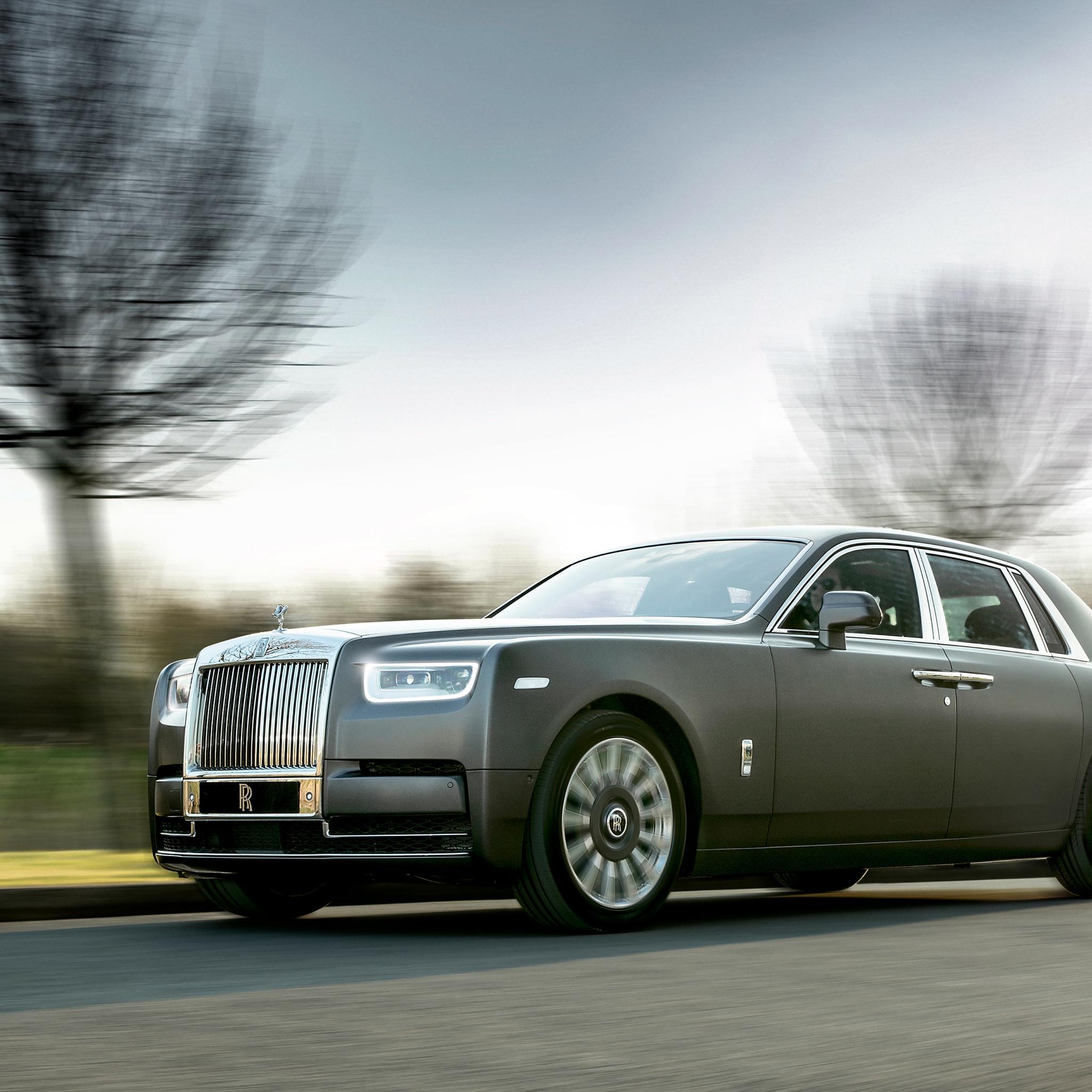 2048x2048 2018 Rolls Royce Phantom The Gentlemans Tourer