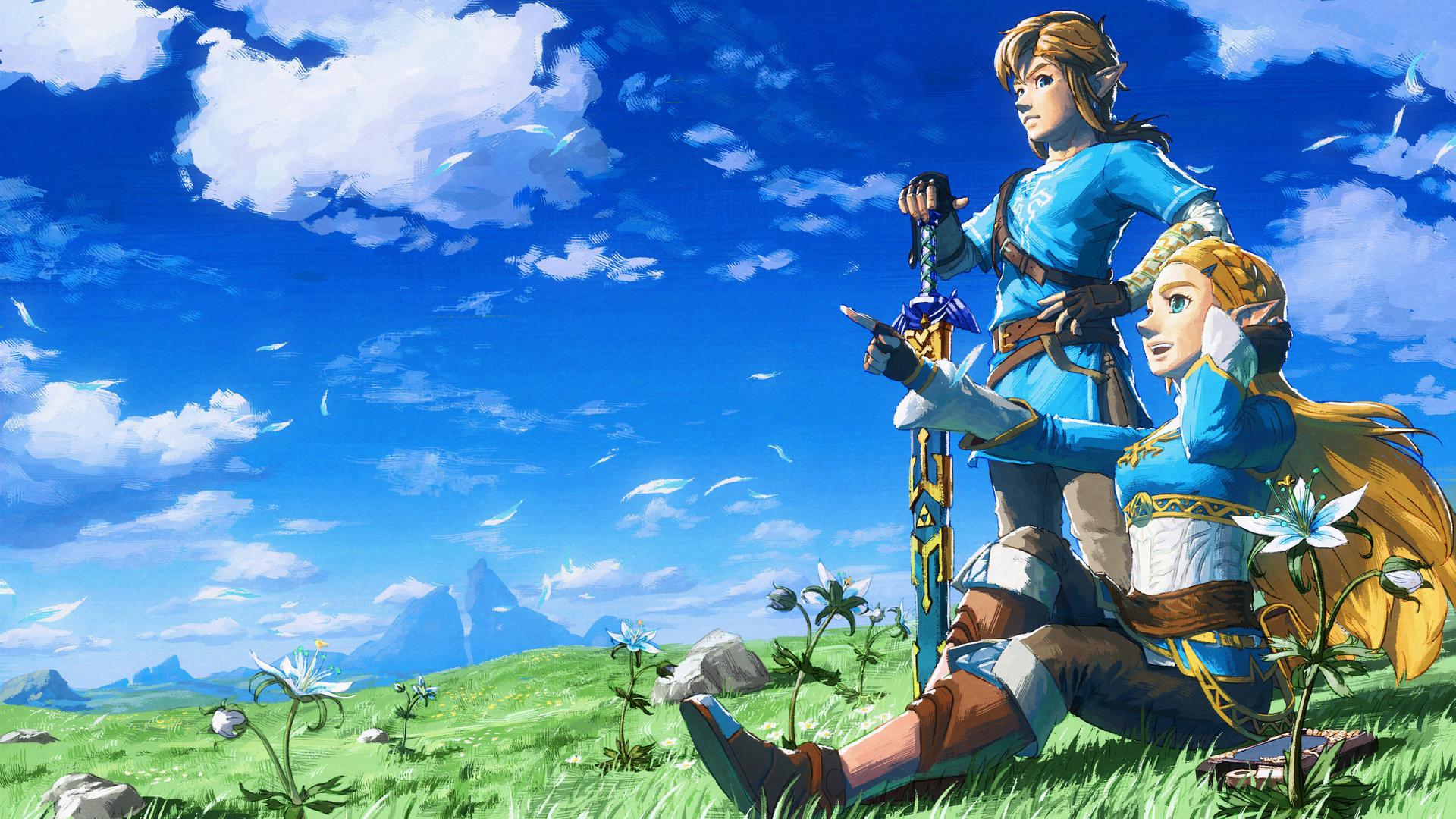 1920x1080 2018 The Legend Of Zelda Breath Of The Wild 4k ...