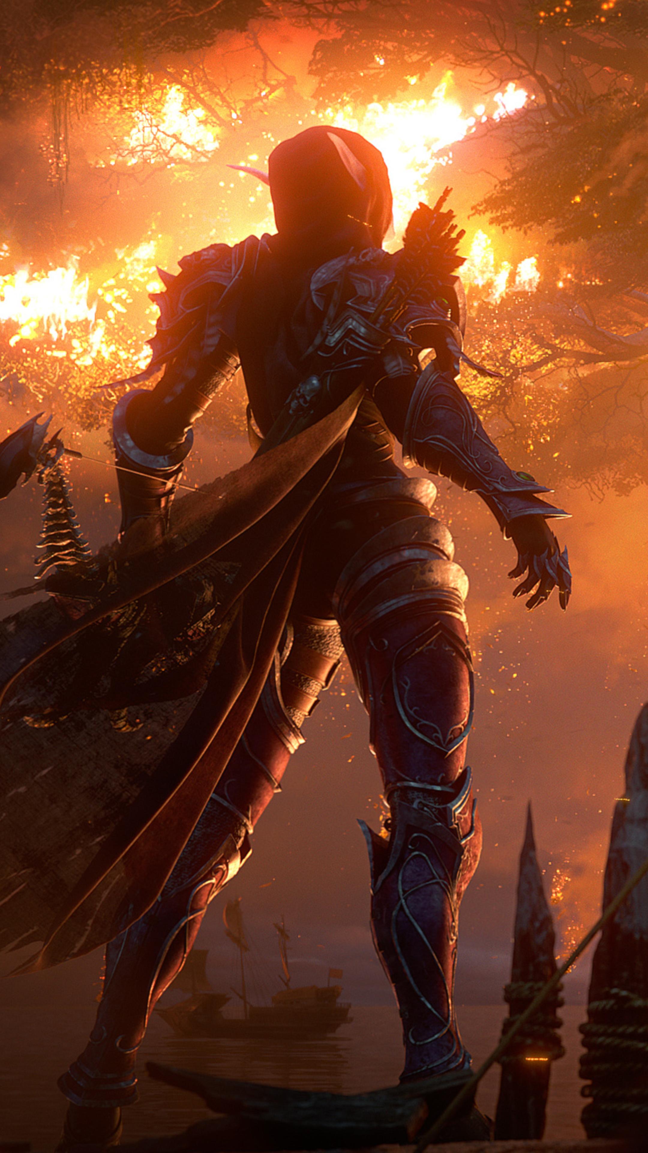 2160x3840 2018 World Of Warcraft Battle For Azeroth Hd Sony