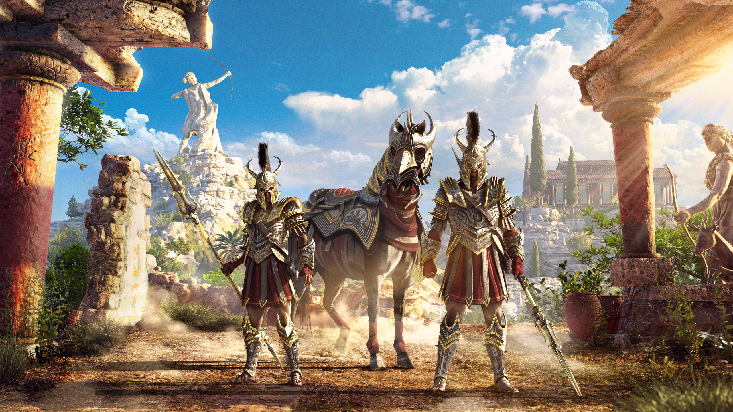 2560x1440 2019 Assassins Creed Odyssey 1440P Resolution HD ...