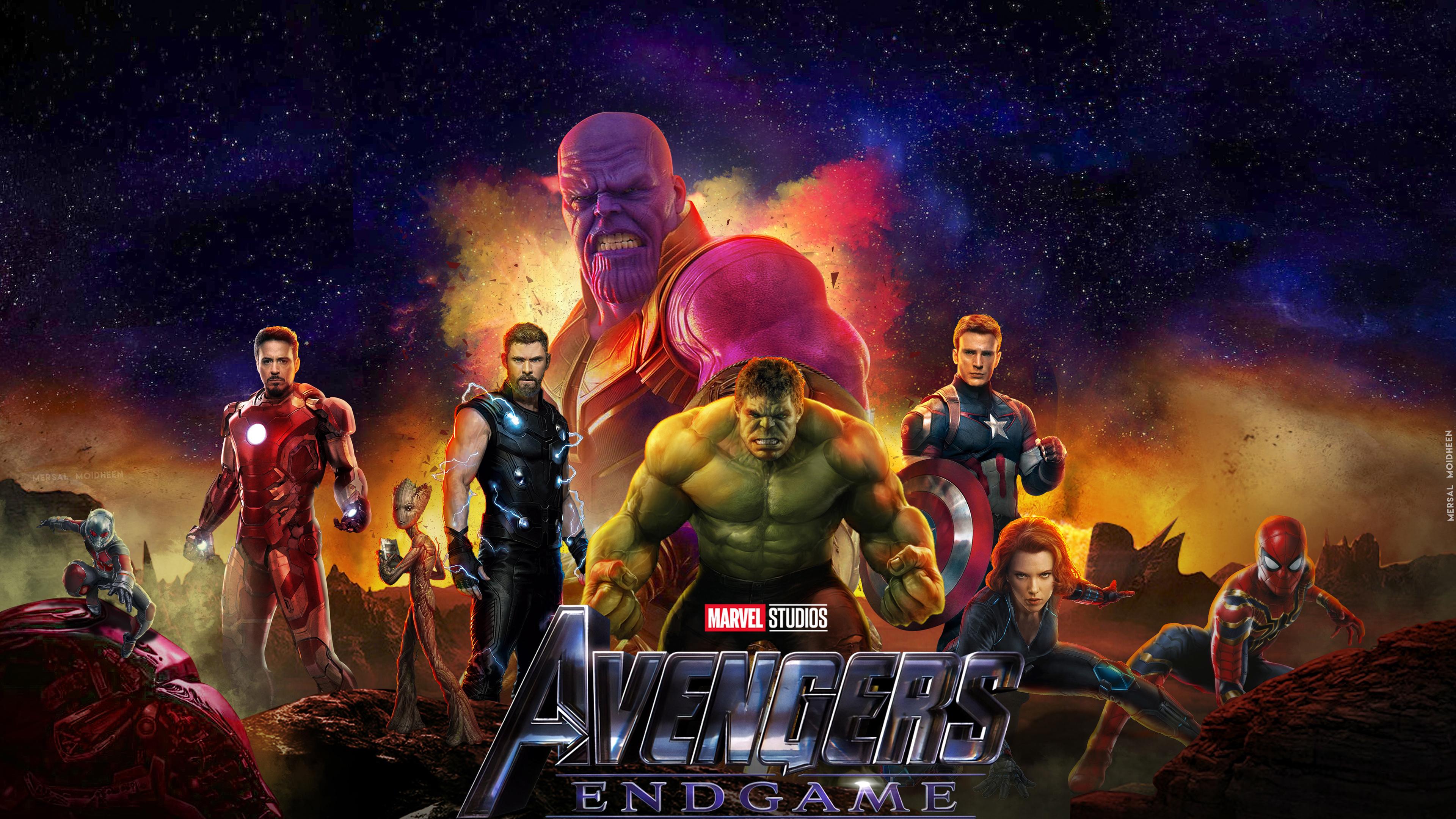 3840x2160 2019 Avengers Endgame New 4k HD 4k Wallpapers ...