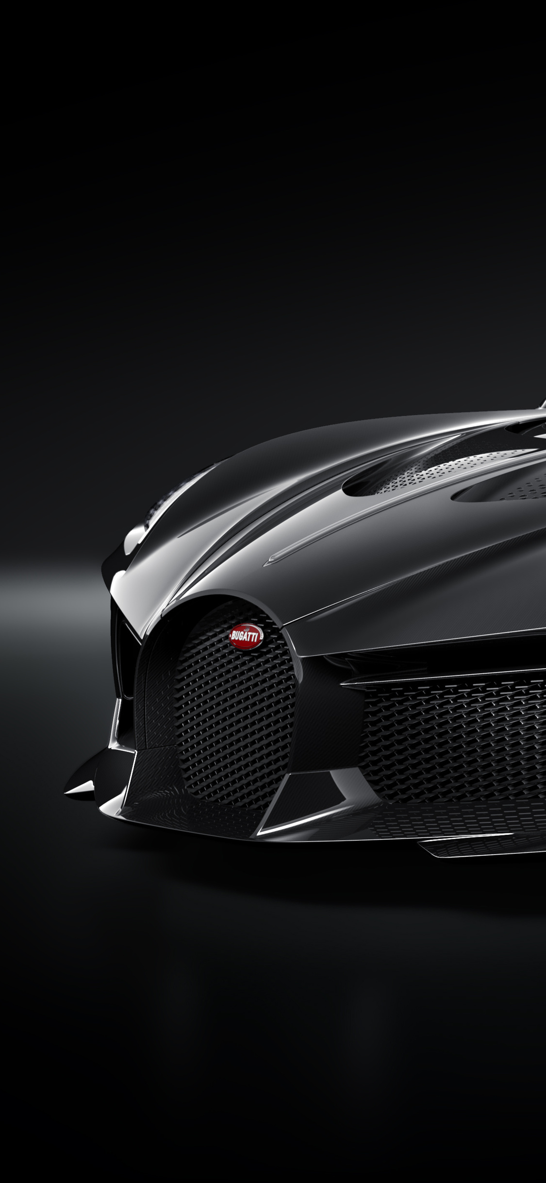 1125x2436 2019 Bugatti La Voiture Noire Iphone Xsiphone 10