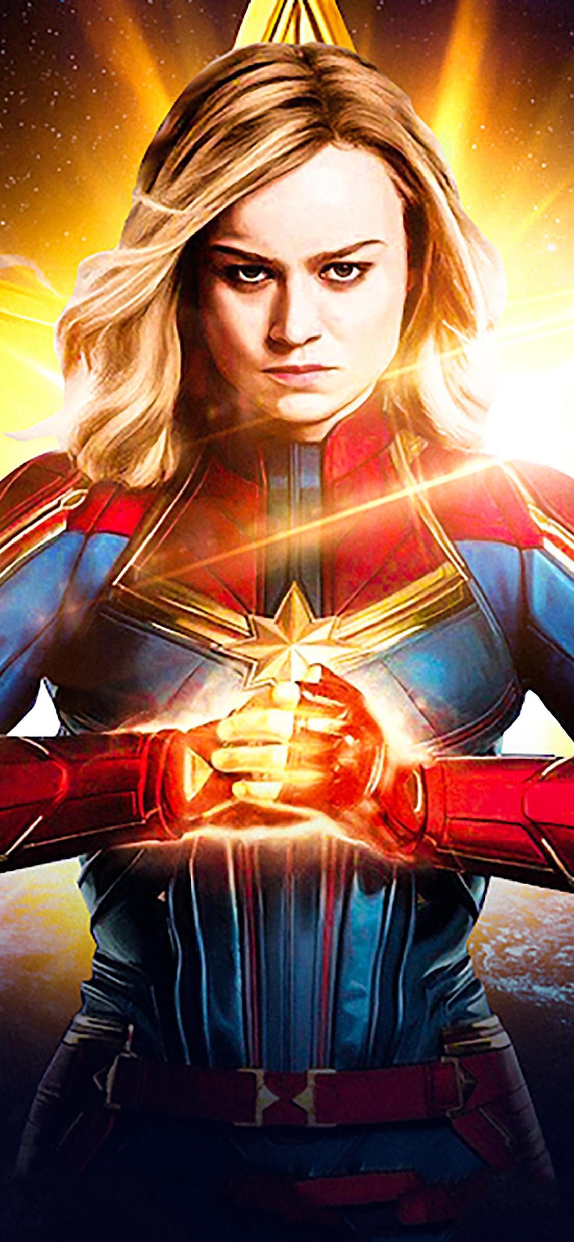 Captain Marvel Wallpaper Iphone Xs