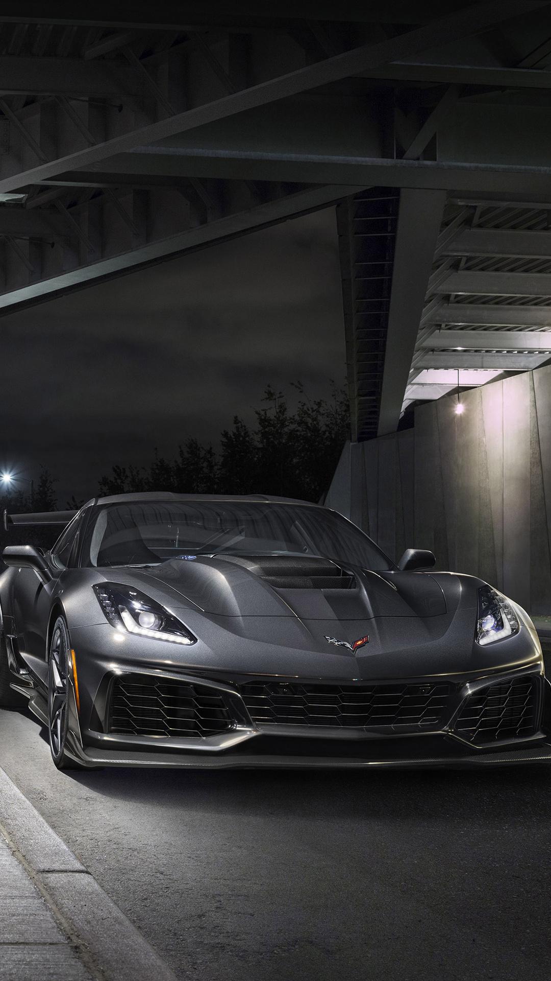1080x1920 2019 Chevrolet Corvette Zr1 4k Iphone 7 6s 6 Plus Pixel