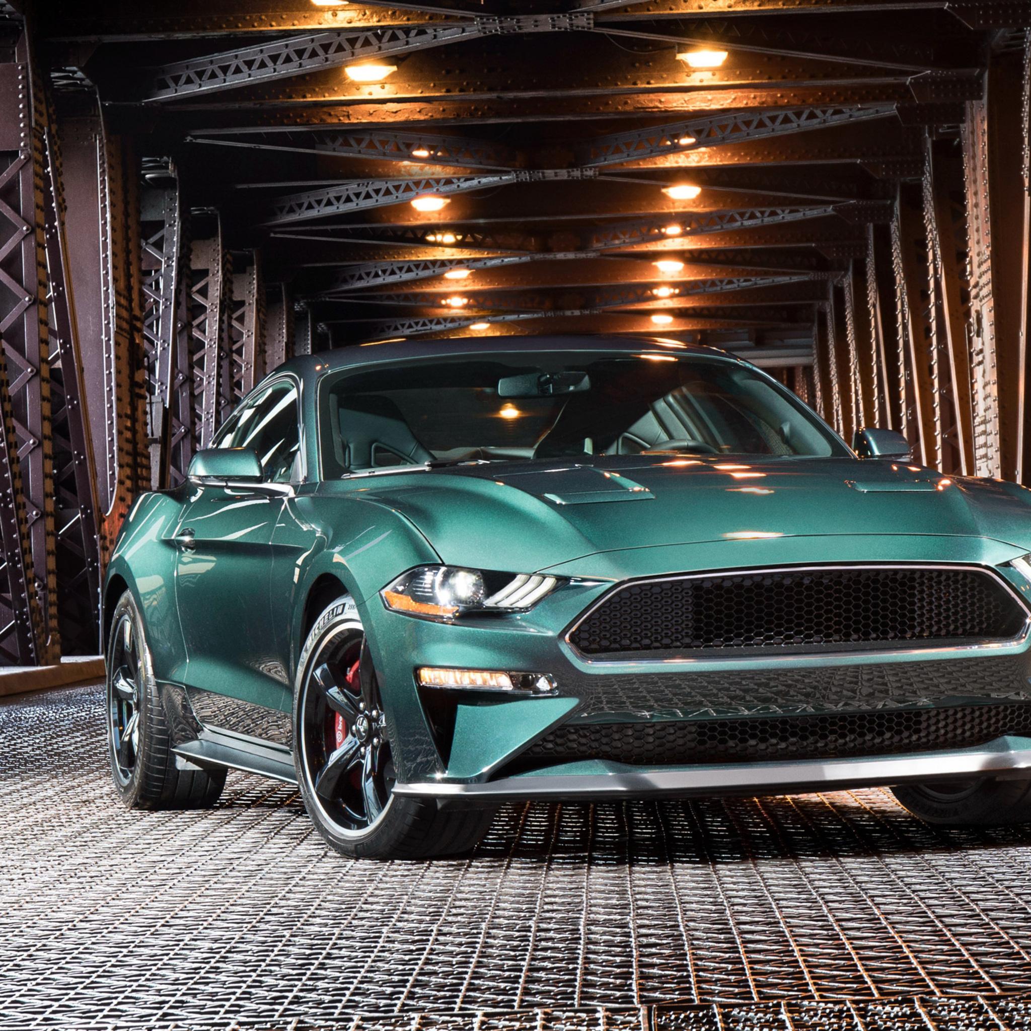 2048x2048 2019 Ford Mustang Bullitt Ipad Air HD 4k