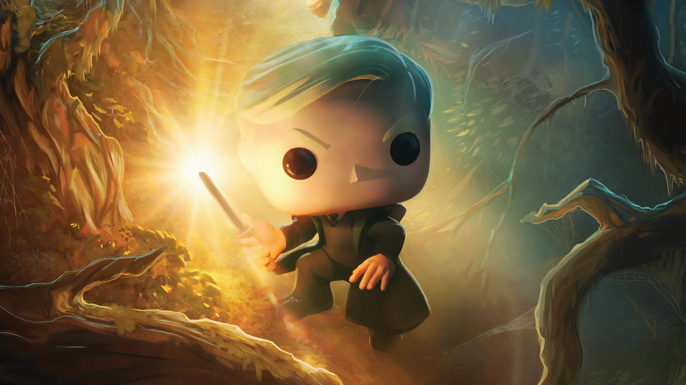 1366x768 2019 Harry Potter Dc Funkoverse 4k 1366x768