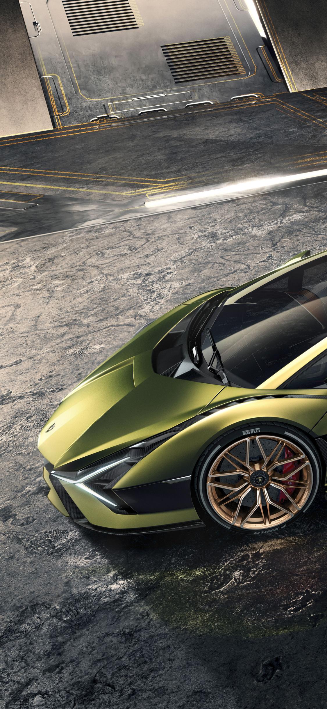 1125x2436 2019 Lamborghini Sian Iphone XS,Iphone 10,Iphone X