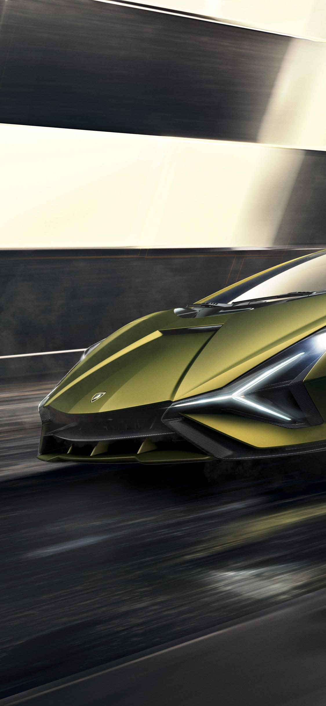 1125x2436 2019 Lamborghini Sian 8k Iphone XS,Iphone 10