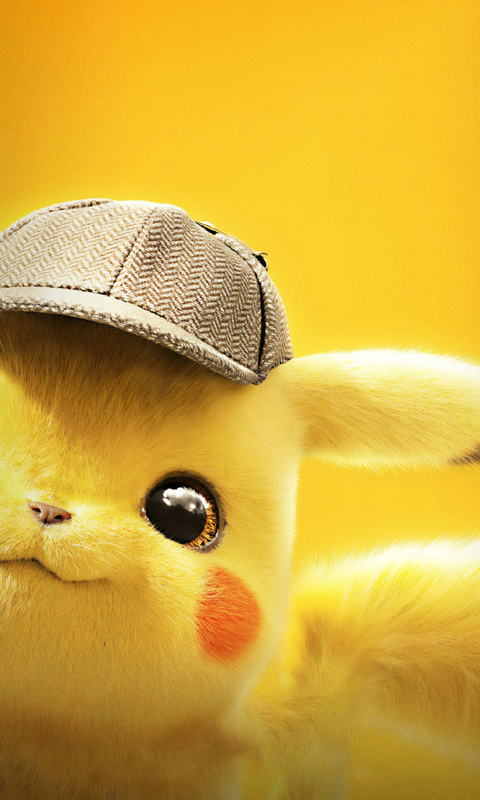 480x800 2019 Pokemon Detective Pikachu 4k Galaxy Note,HTC ...